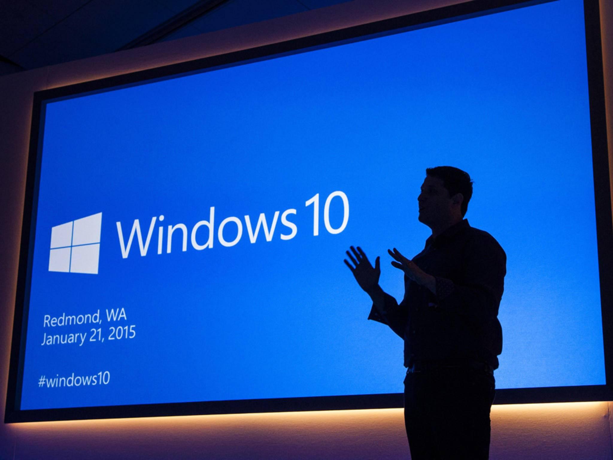 Pünktlich zum Geburtstag bekommt Windows 10 ein großes Update.