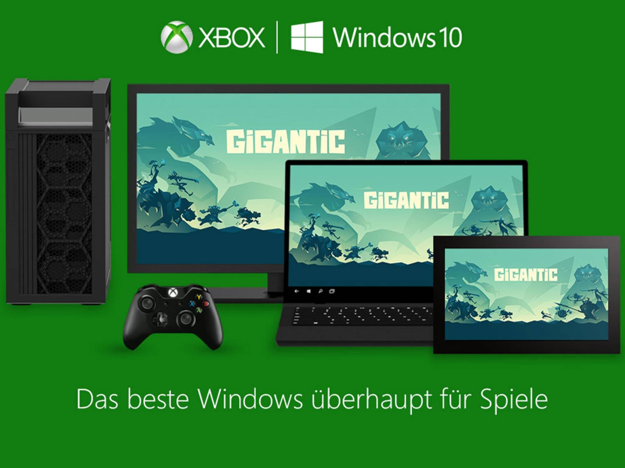 Xbox Play Anywhere schaltet ein einmal gekauftes Spiel für PC und Xbox One frei.