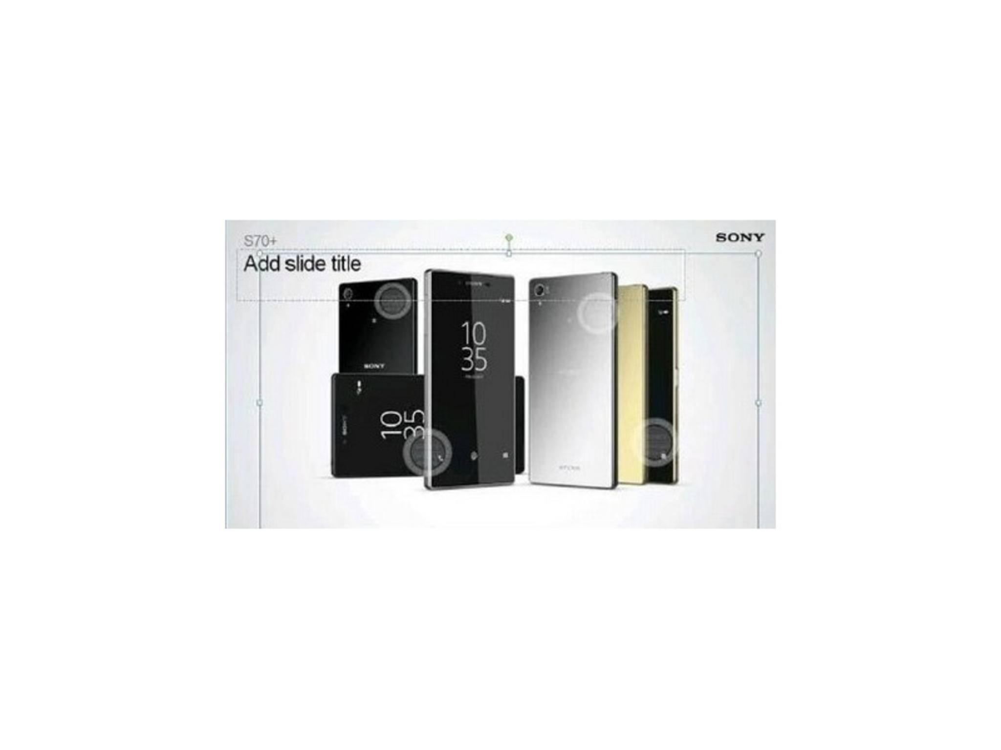 Der Leak des Xperia Z5+ deutet auf den Einsatz eines Fingerabdruckscanners hin.
