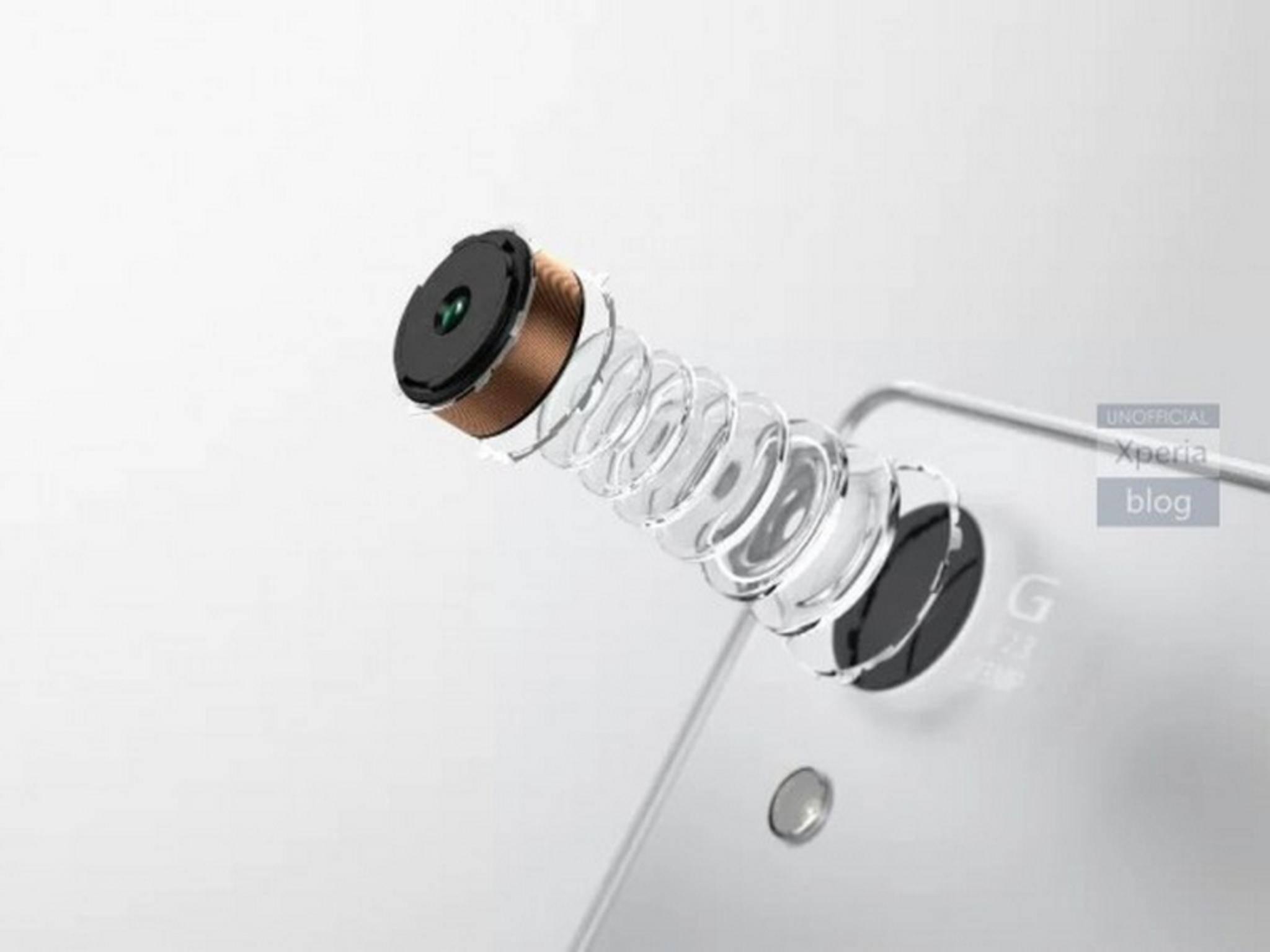 Das Xperia Z5 besitzt offenbar eine 23-Megapixel-Kamera.