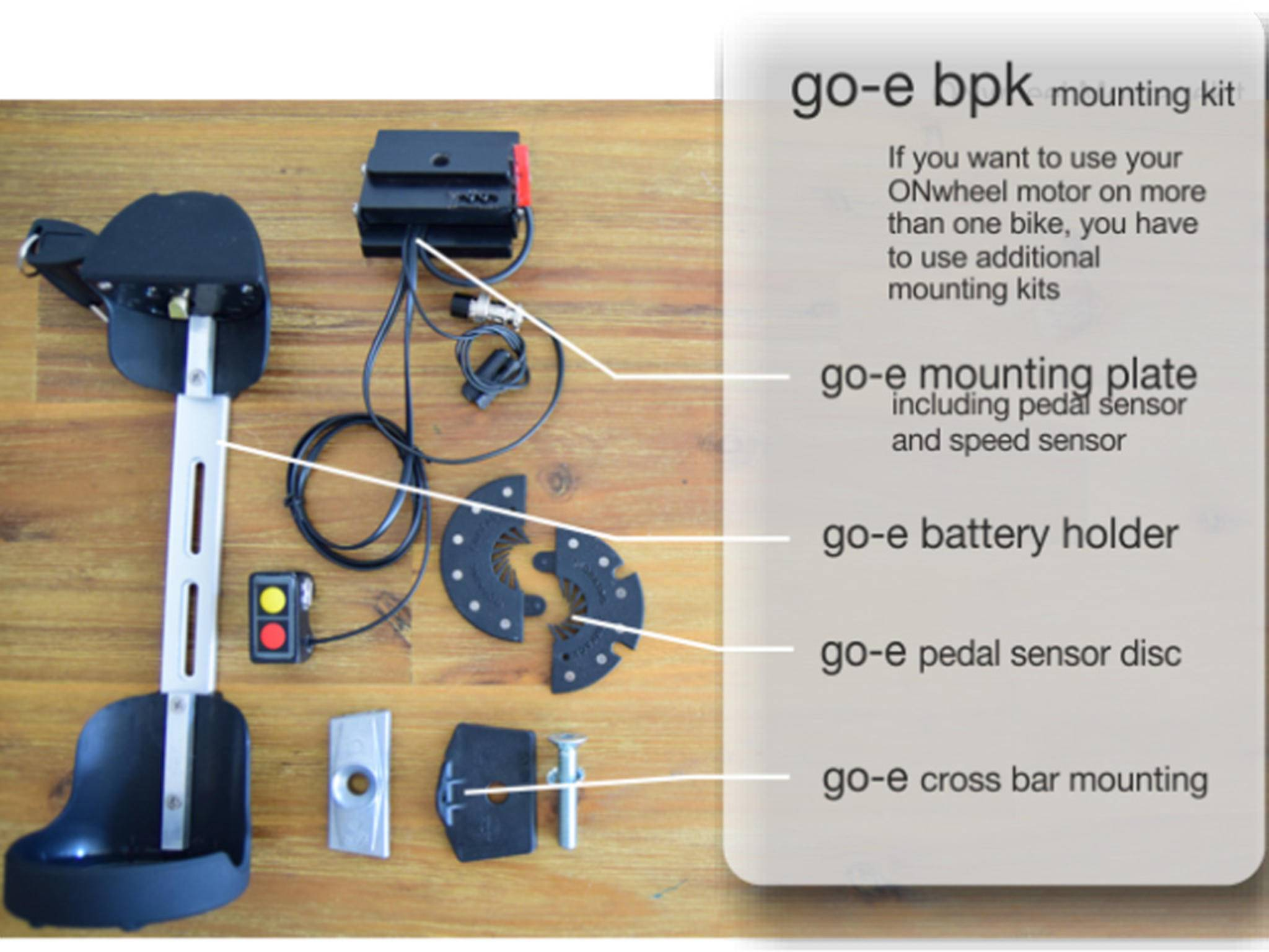 Turn on innovation mini motor macht aus jedem rad ein e bike for Go e bike motor