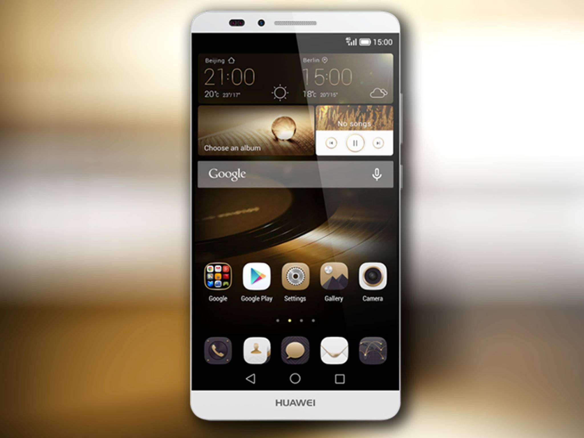 Das Huawei Mate 7S: Wird das neue Gerät aus China wirklich Force Touch können?