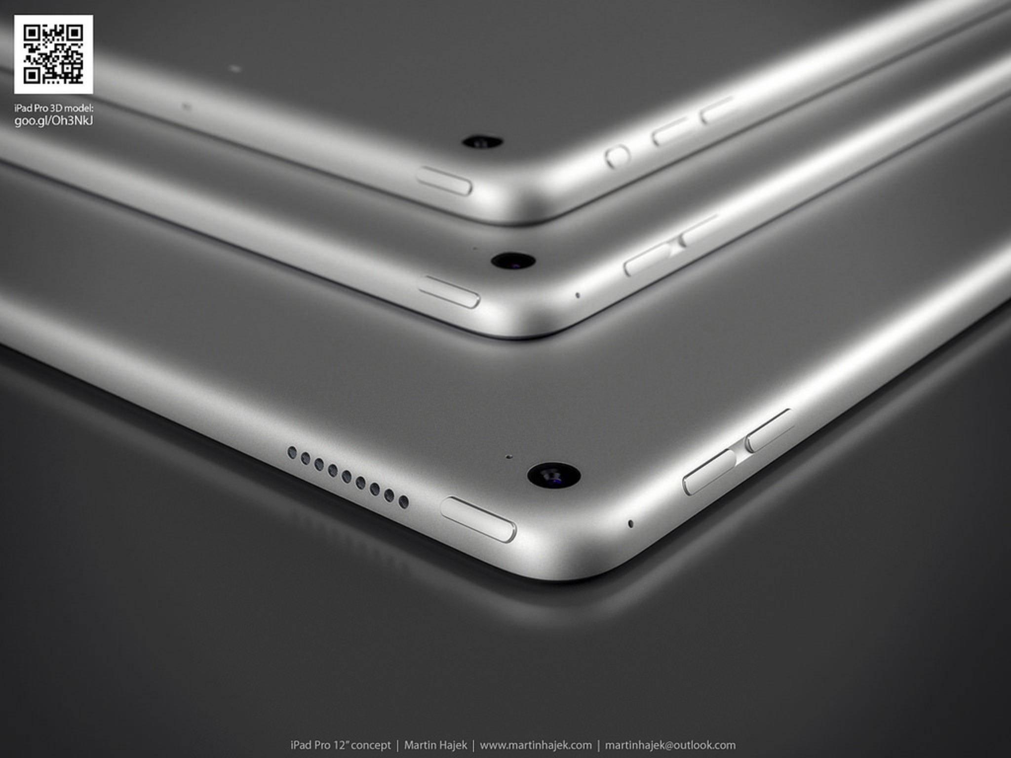 Das iPad Pro könnte richtig groß und richtig teuer werden.