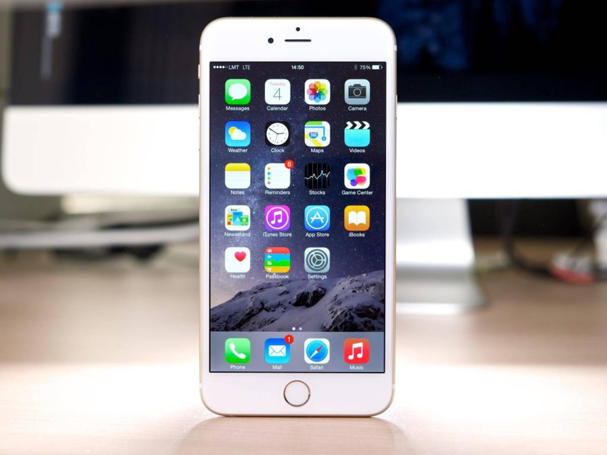 Besonders das iPhone 6 Plus ist von einem Display-Fehler betroffen.