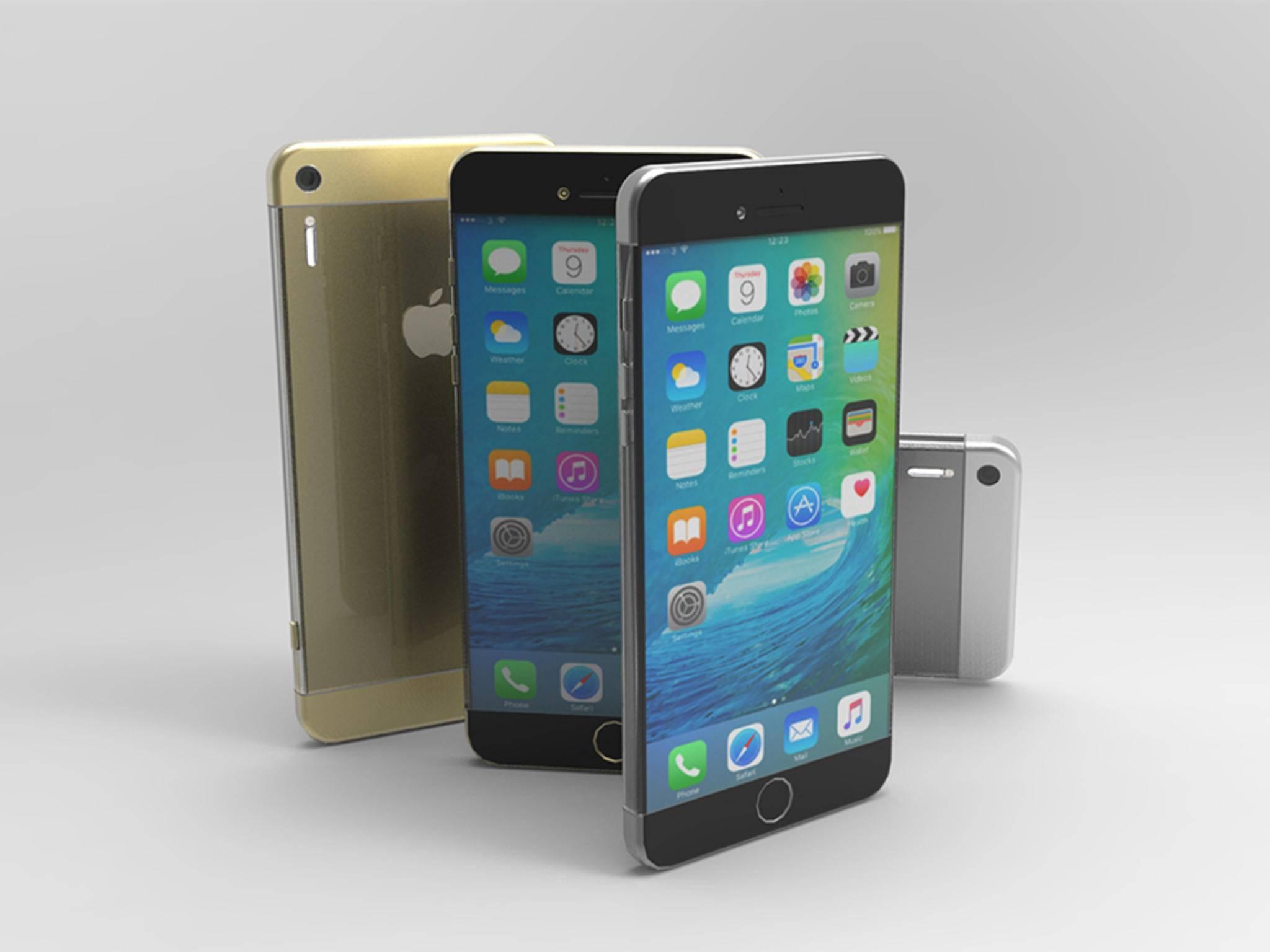 Konzept zum iPhone 7 von Vuk Nemanja Zoraja.