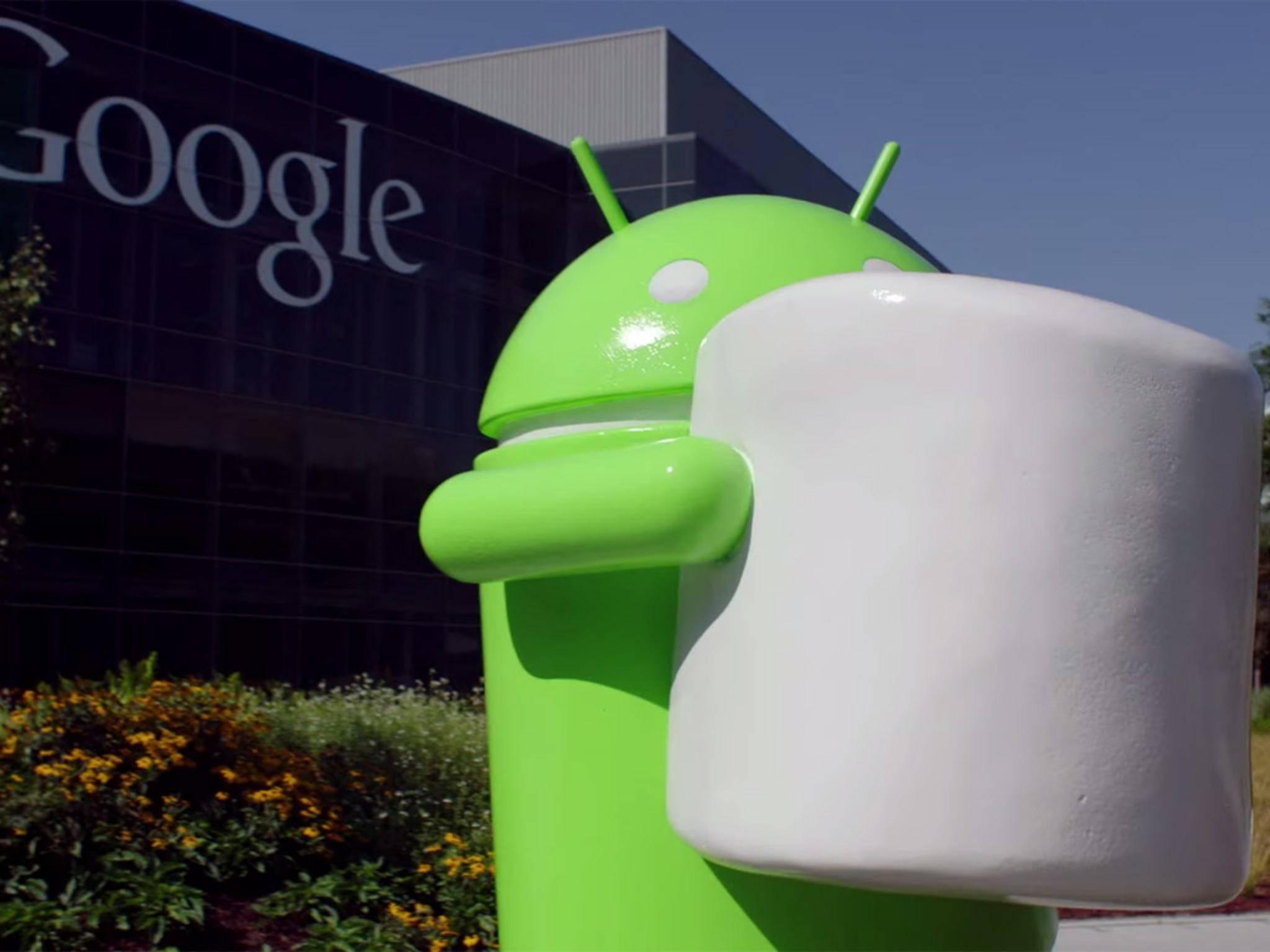 Schon ab dem 5. Oktober könnte Android Marshmallows rösten.