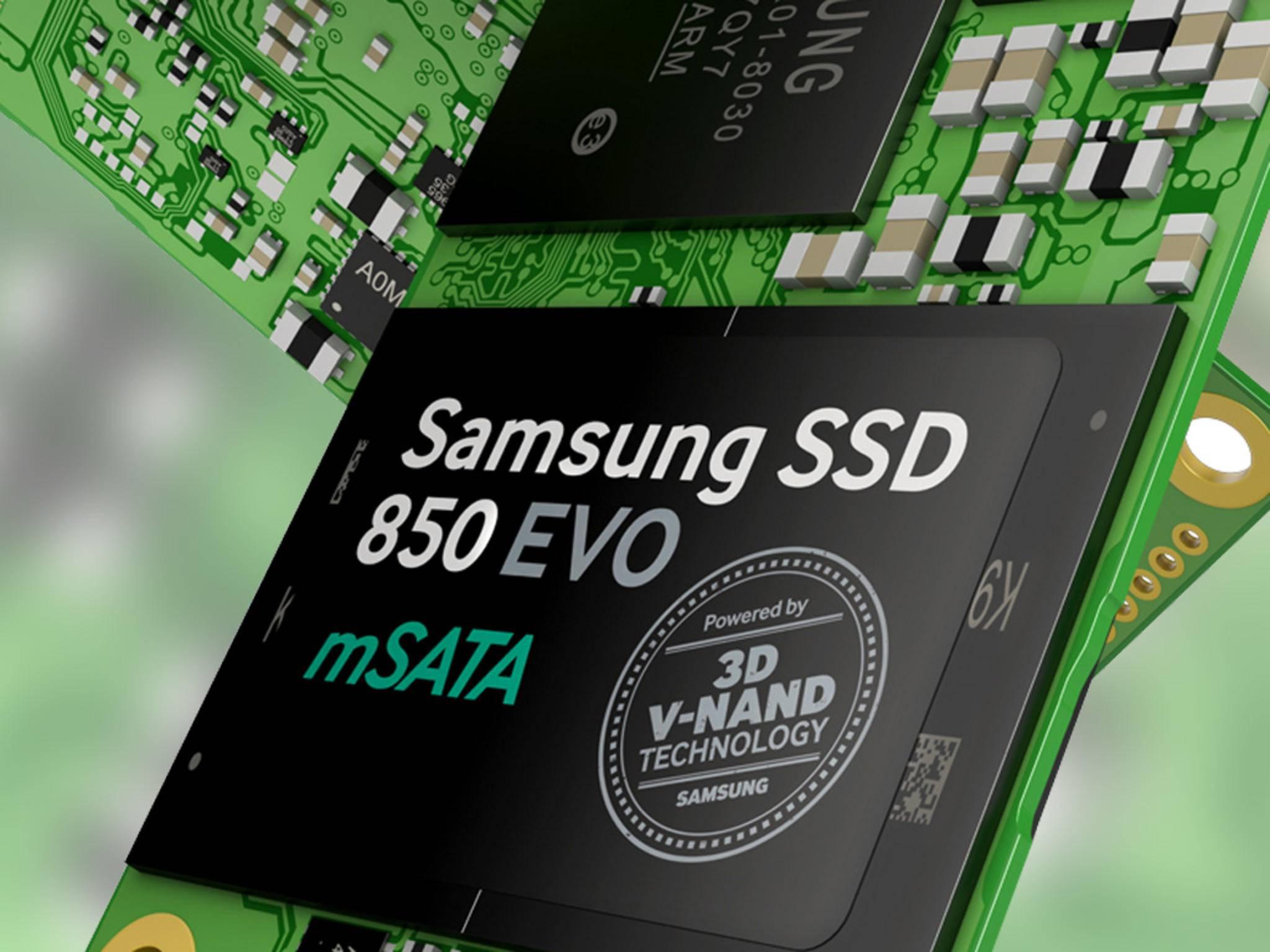 Samsung stellt bereits jetzt viele SSD-Festplatten auch für Heimanwender her.