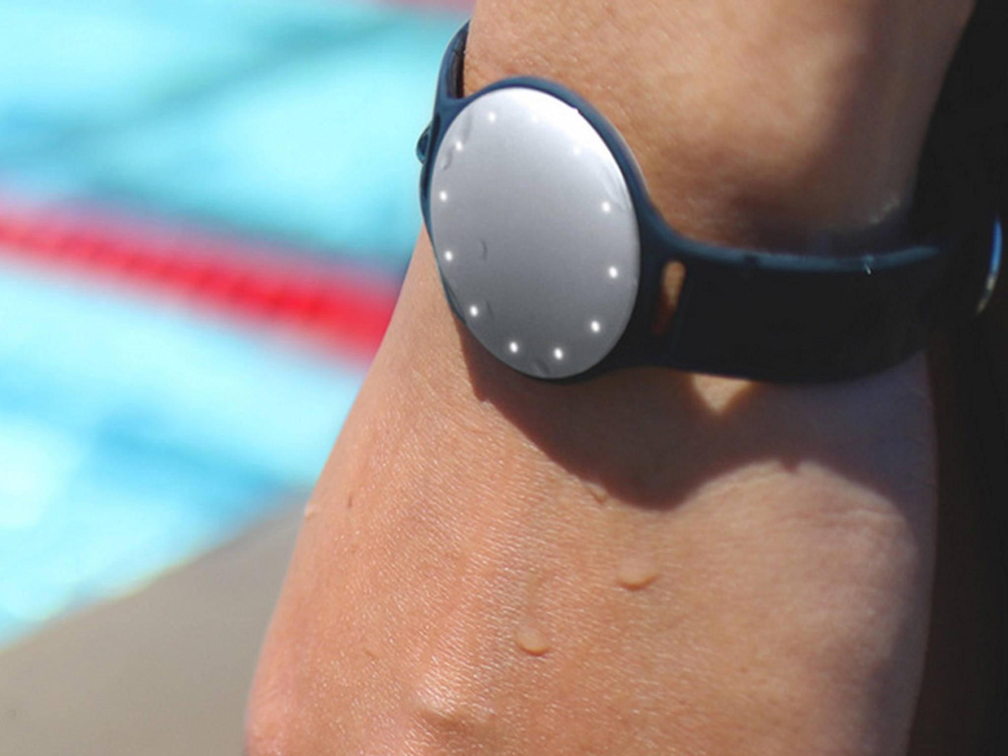Der Speedo Shine kann Schwimmbahnen sehr genau zählen.