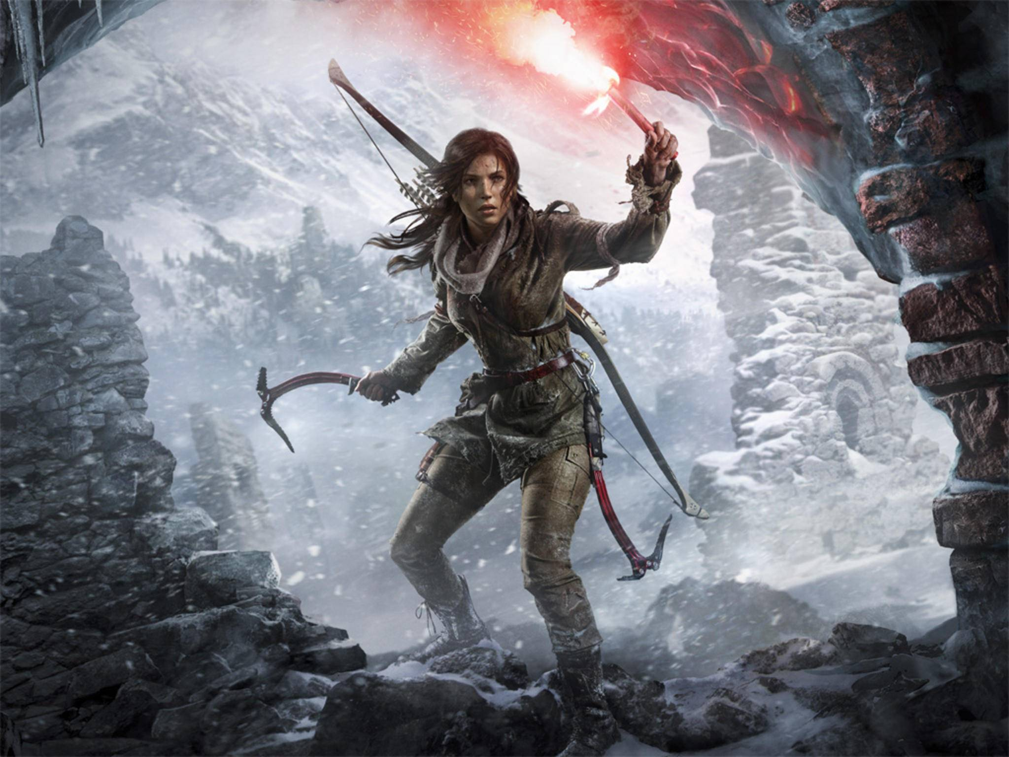 """""""Rise of the Tomb Raider"""" kommt vielleicht schon im Januar für PC."""