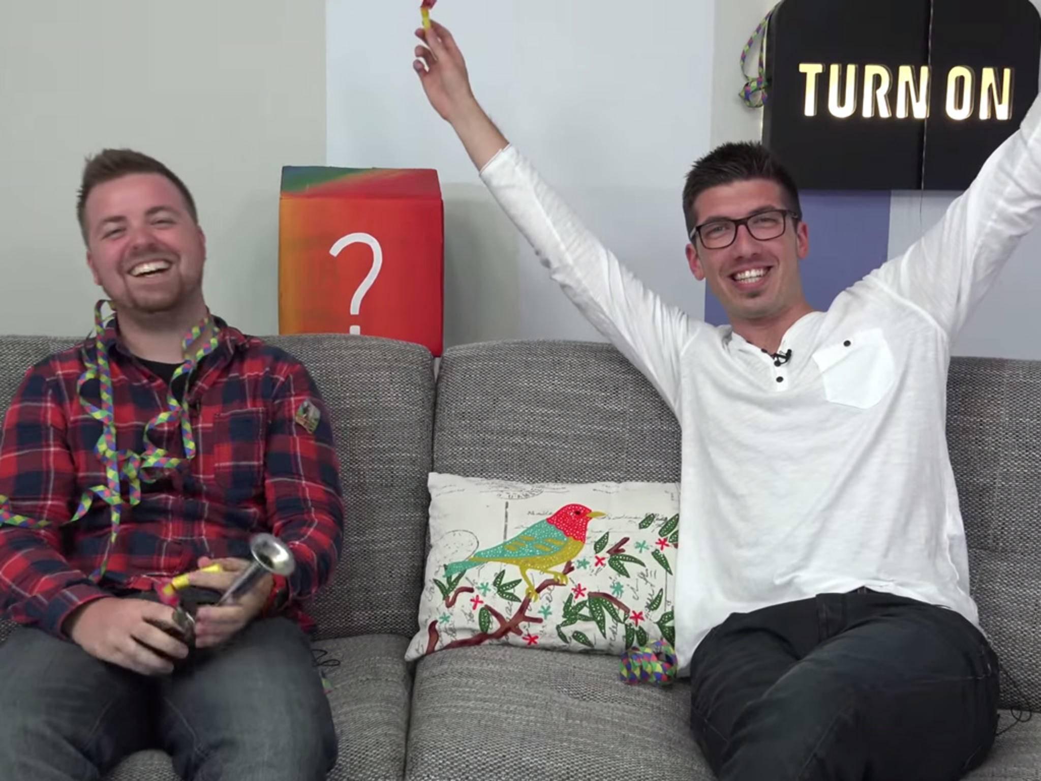 Jens und Alex jubeln: Der YoTube-Kanal hat die magische Zahl von 100.000 Abonnenten erreicht.