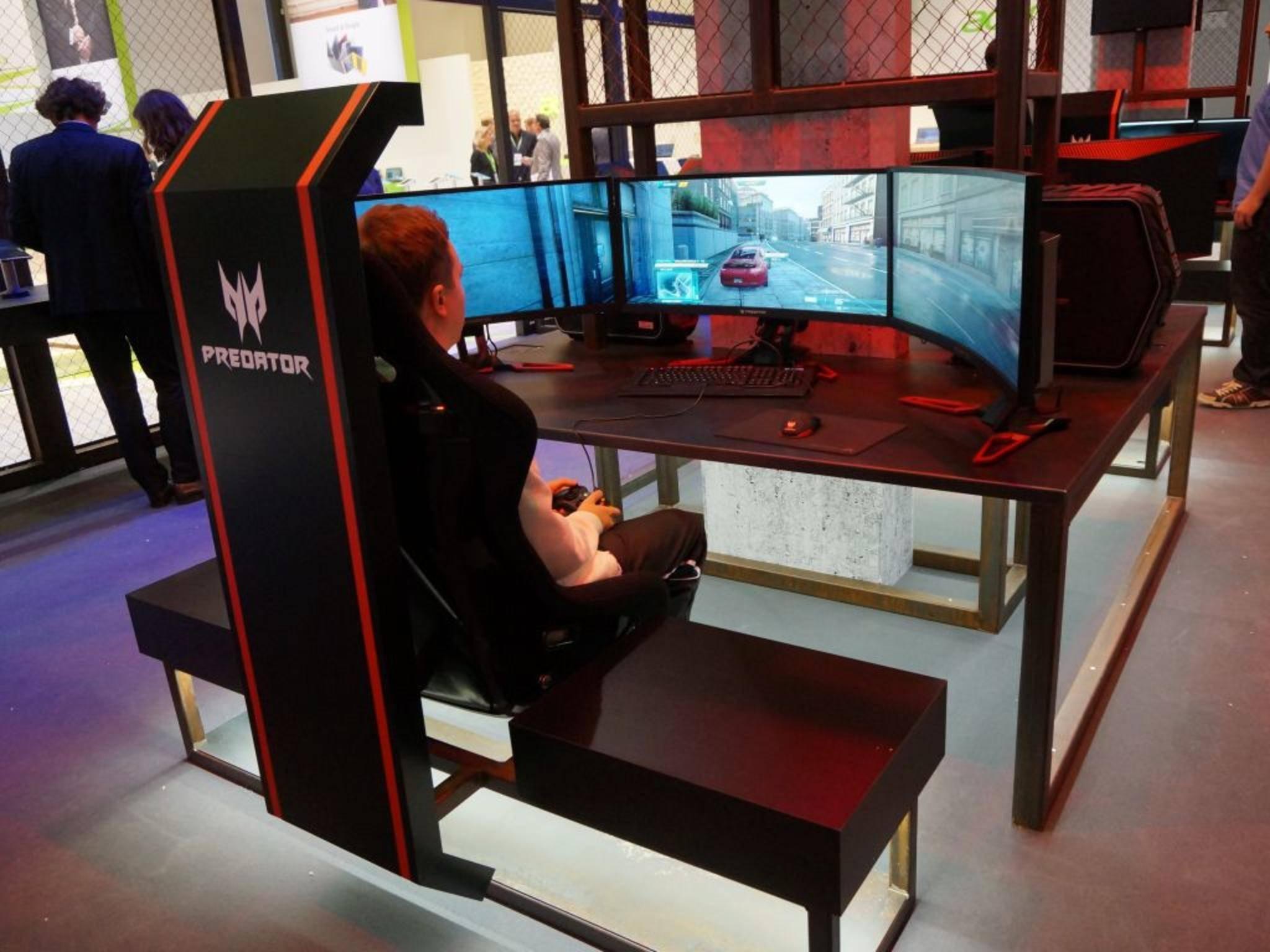 Die Predator-Welt von Acer auf der IFA.