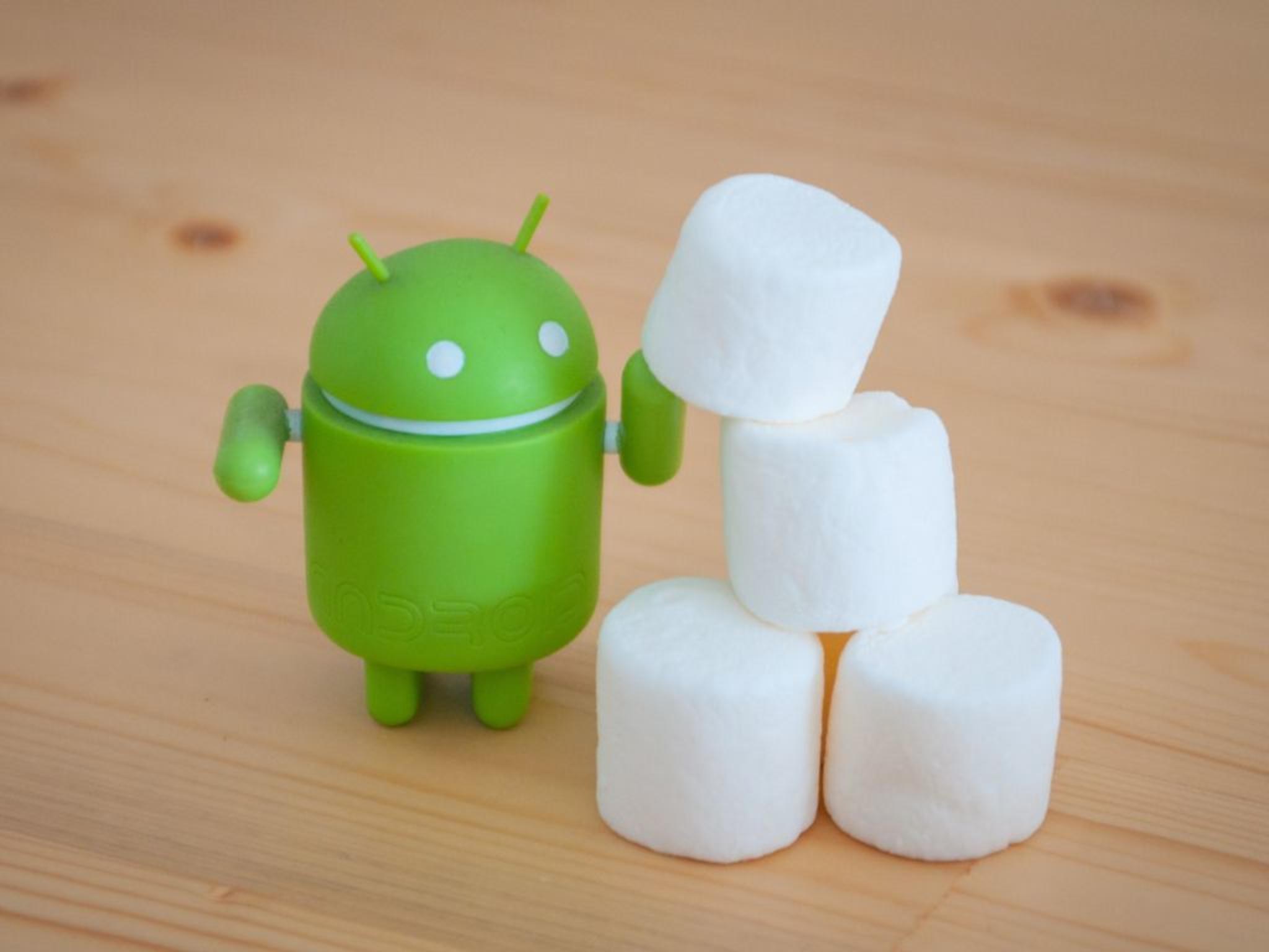 Ab sofort werden mit Android Marshmallows geröstet.