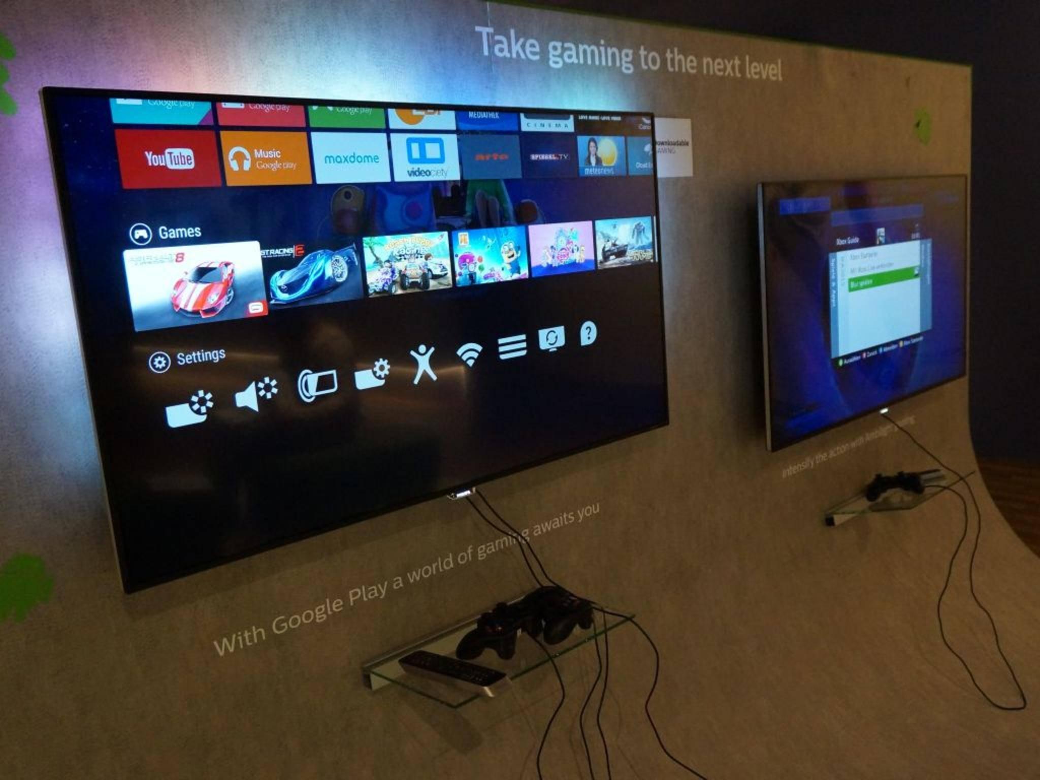 Hat in meinen Augen großes Potenzial: Android TV bei Philips.