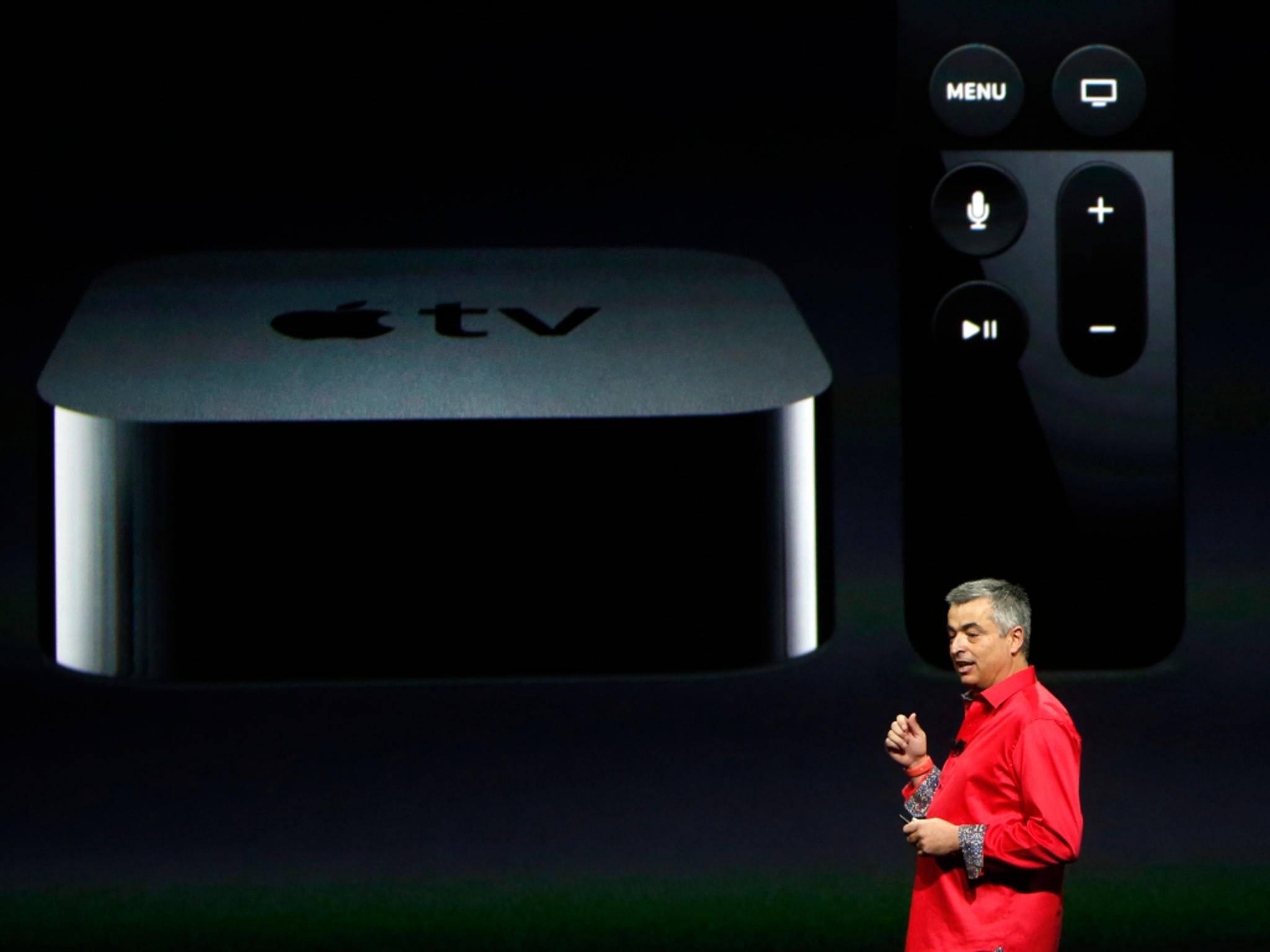 Apple TV 4 wurde auf der Keynote vorgestellt.