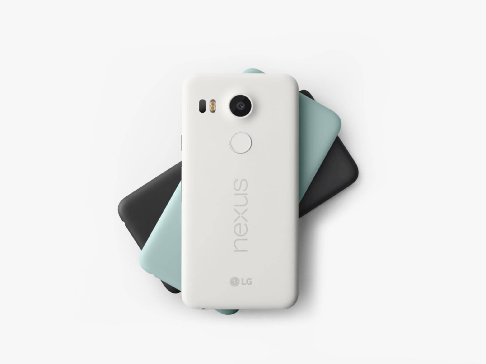 Das Google Nexus 5X kommt ab Werk mit Android 6.0.
