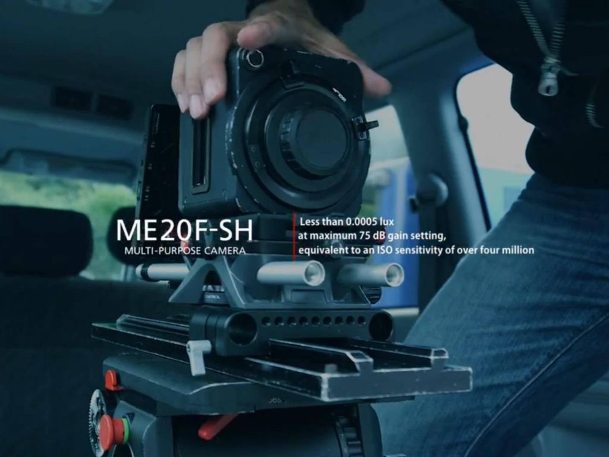 Die Canon ME20F-SH kann mehr sehen als das menschliche Auge.
