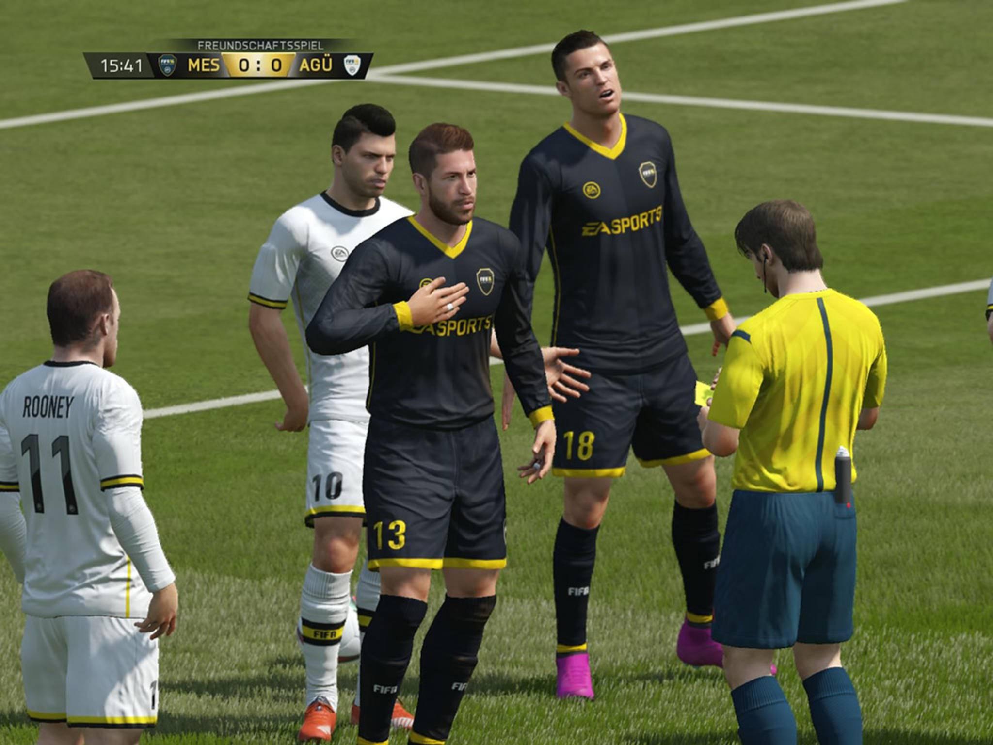 Nicht immer gehen die Spieler mit Schiedsrichterentscheidungen konform.