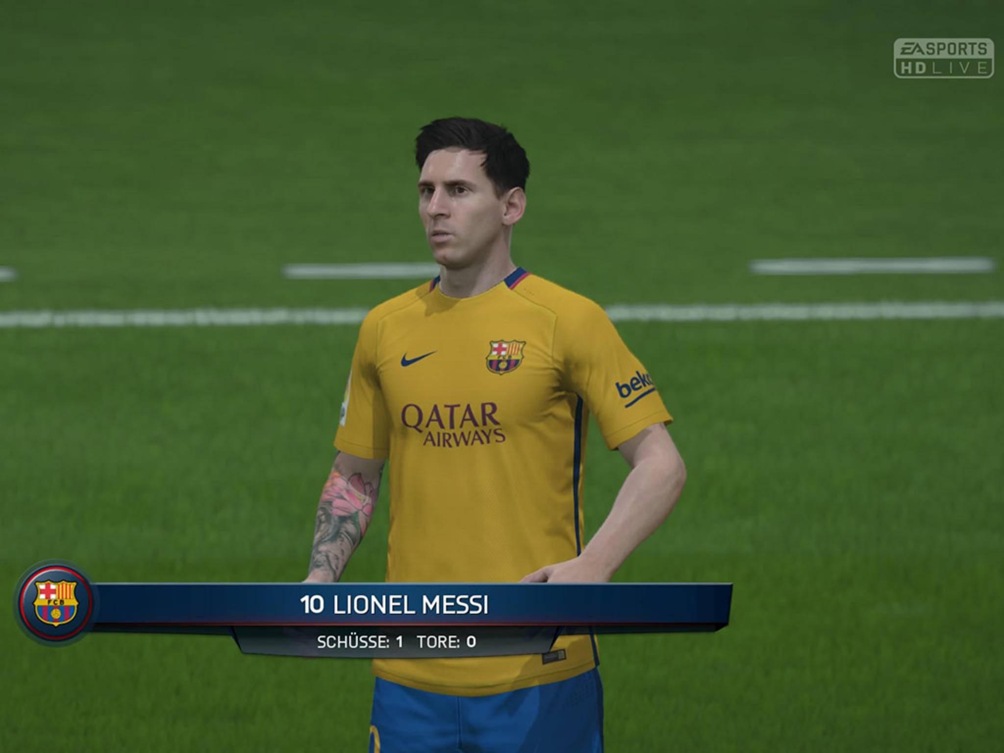 Prägt Jahr für Jahr das Coverbild der FIFA-Reihe: Messi.