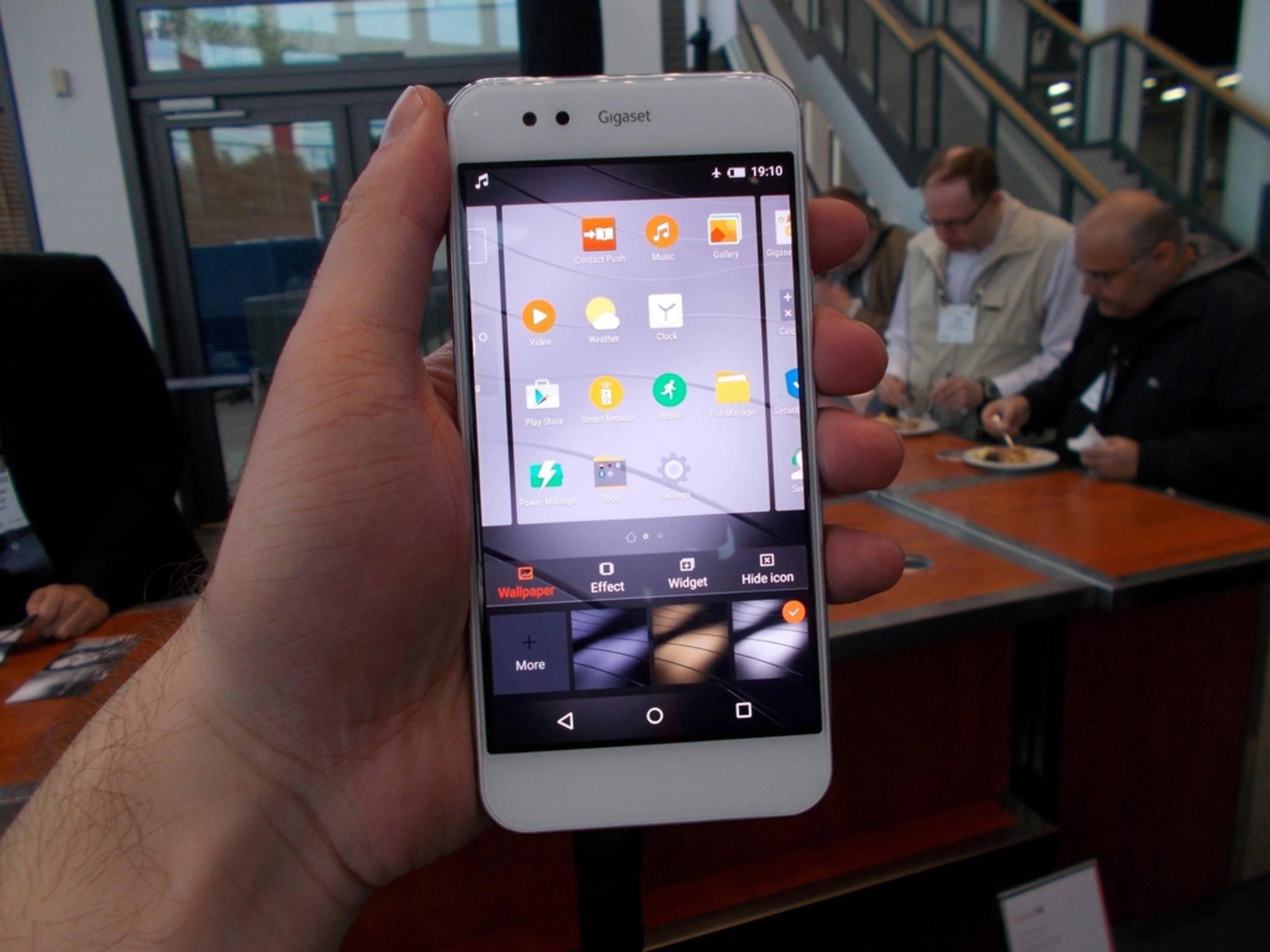 Das Gigaset ME ist das erste deutsche Android-Smartphone.