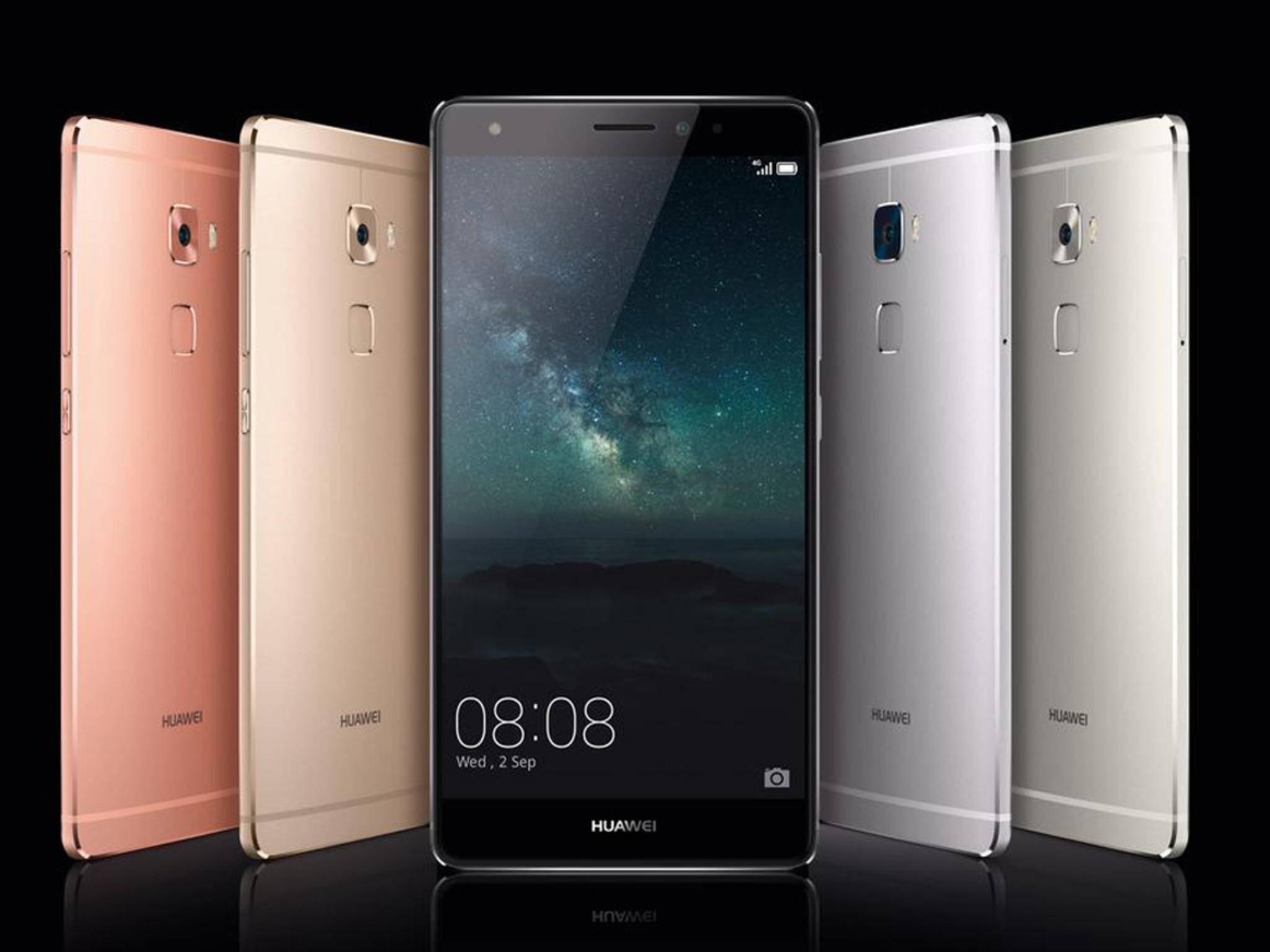 Das Huawei Mate S mit Force Touch wurde auf der IFA enthüllt.