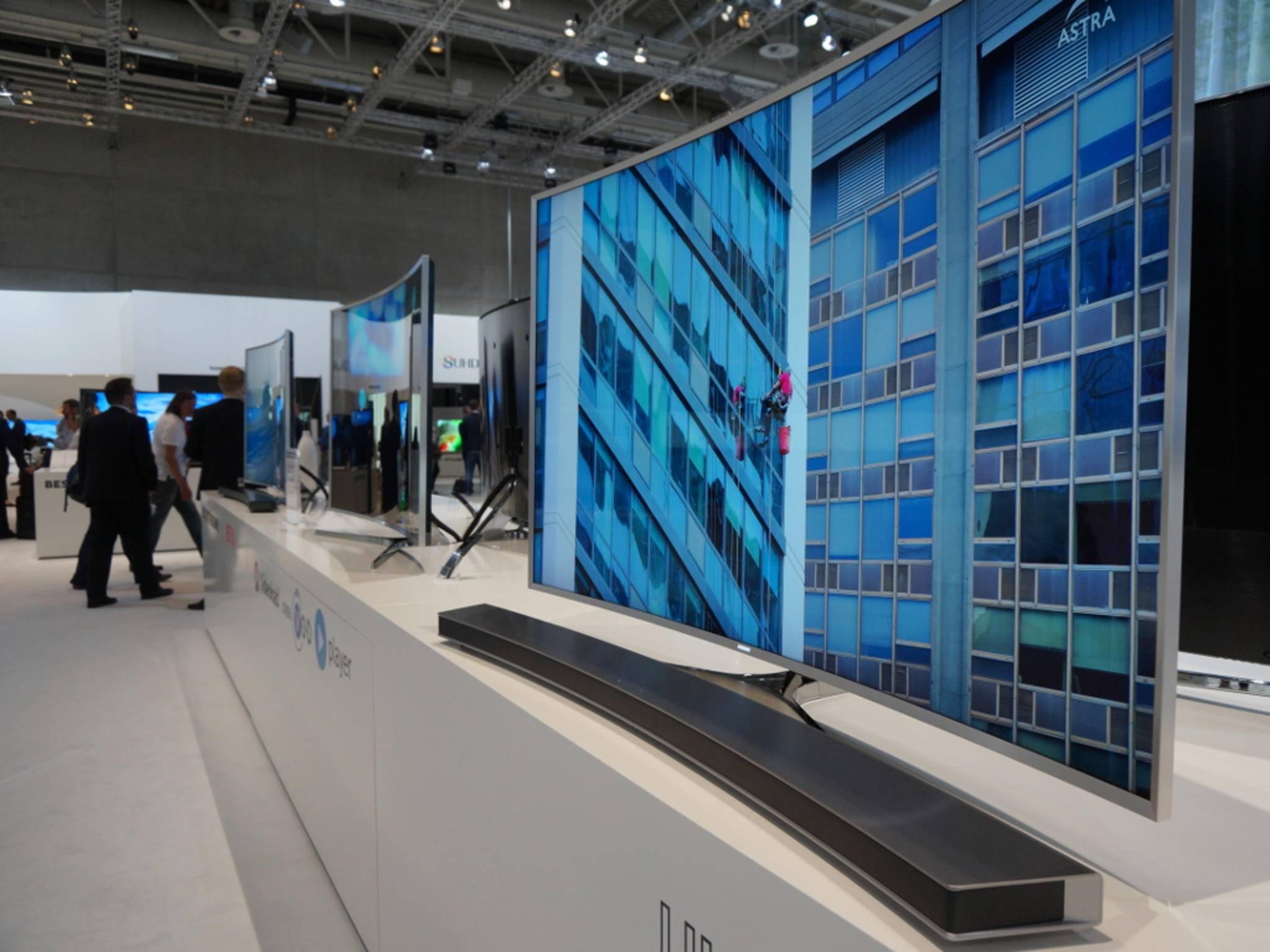 Samsung verbessert die Sicherheit von Smart TVs.