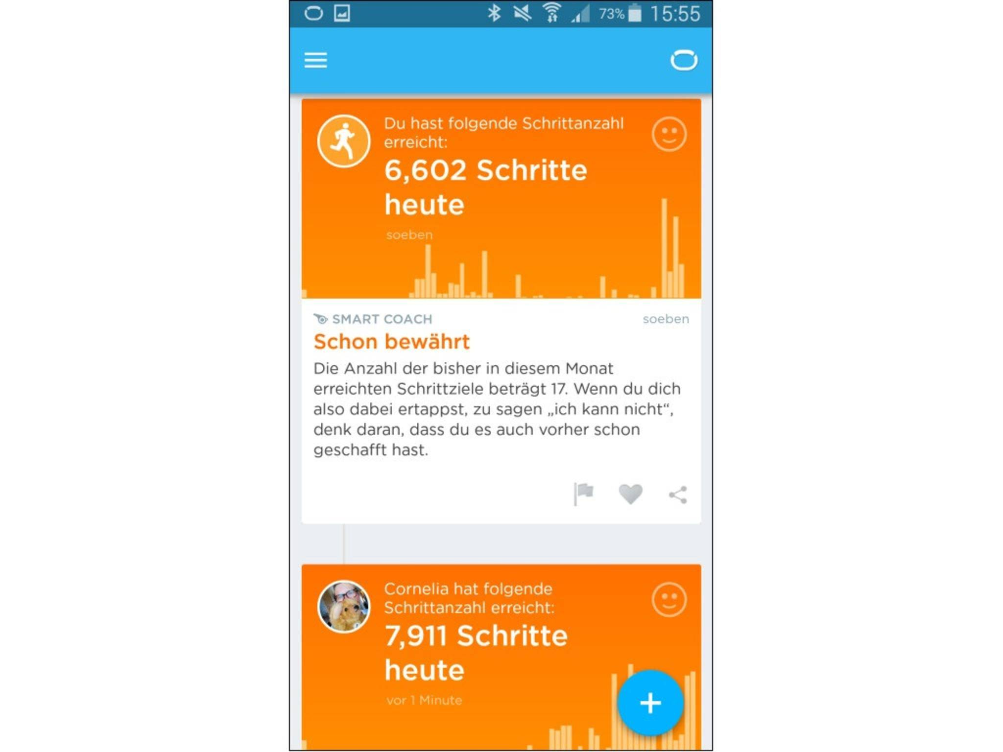 Jawbone Up-App 10