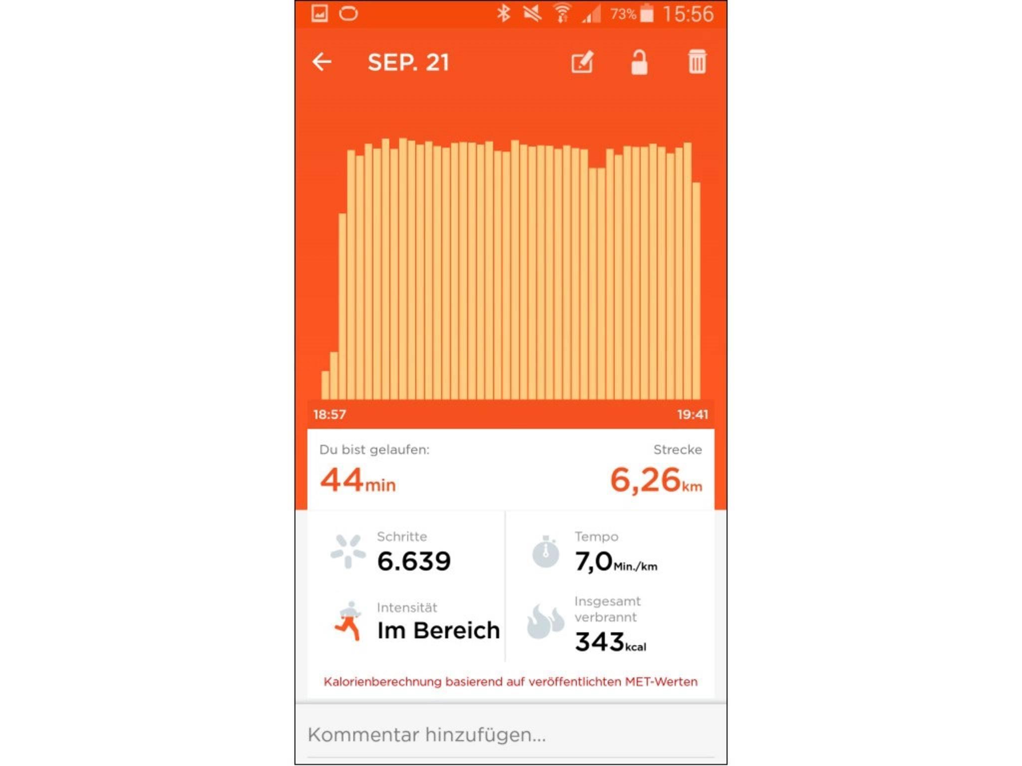 Jawbone Up-App 15