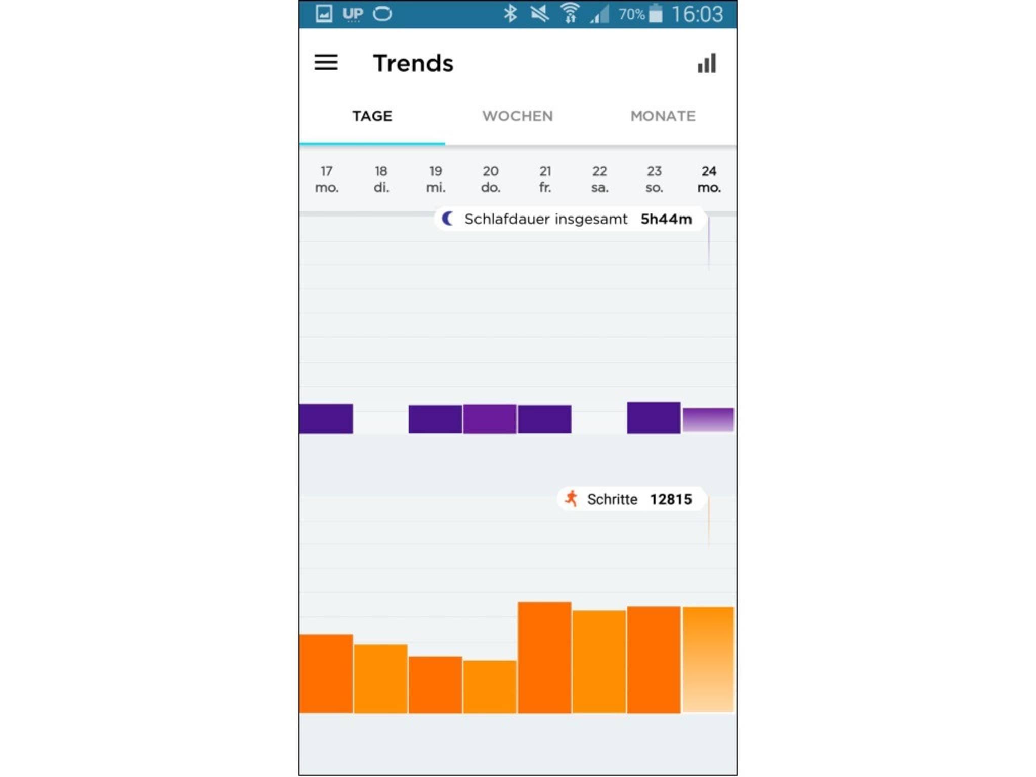Jawbone Up-App 20