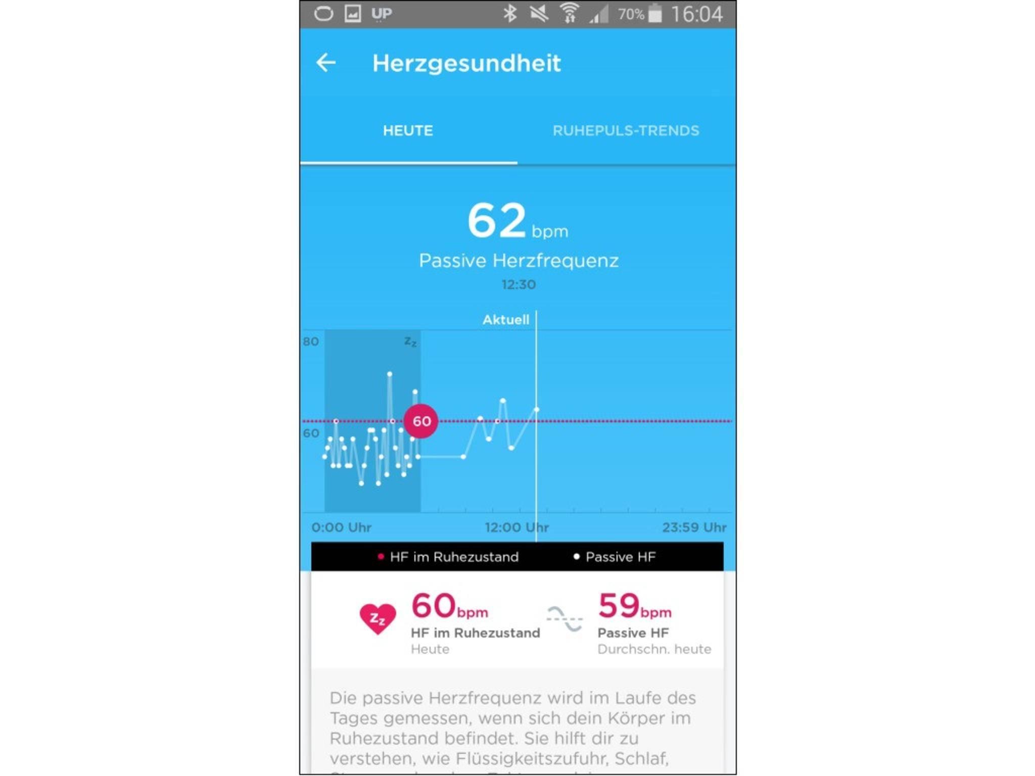 Jawbone Up-App 21