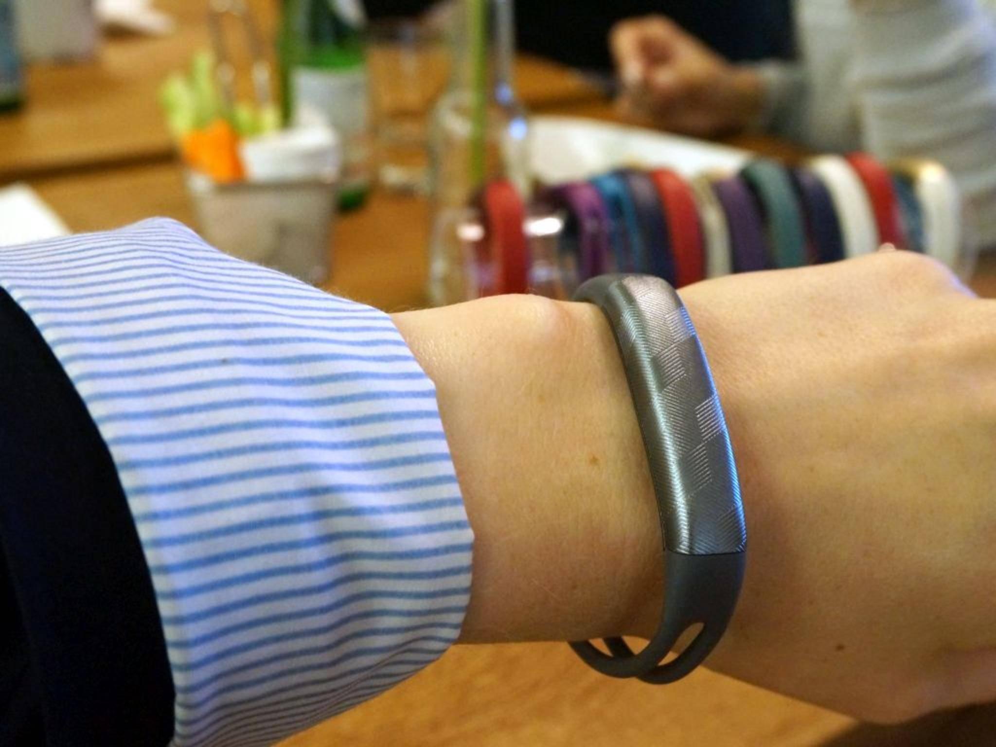 Das neue Armband trägt noch weniger auf als das alte.