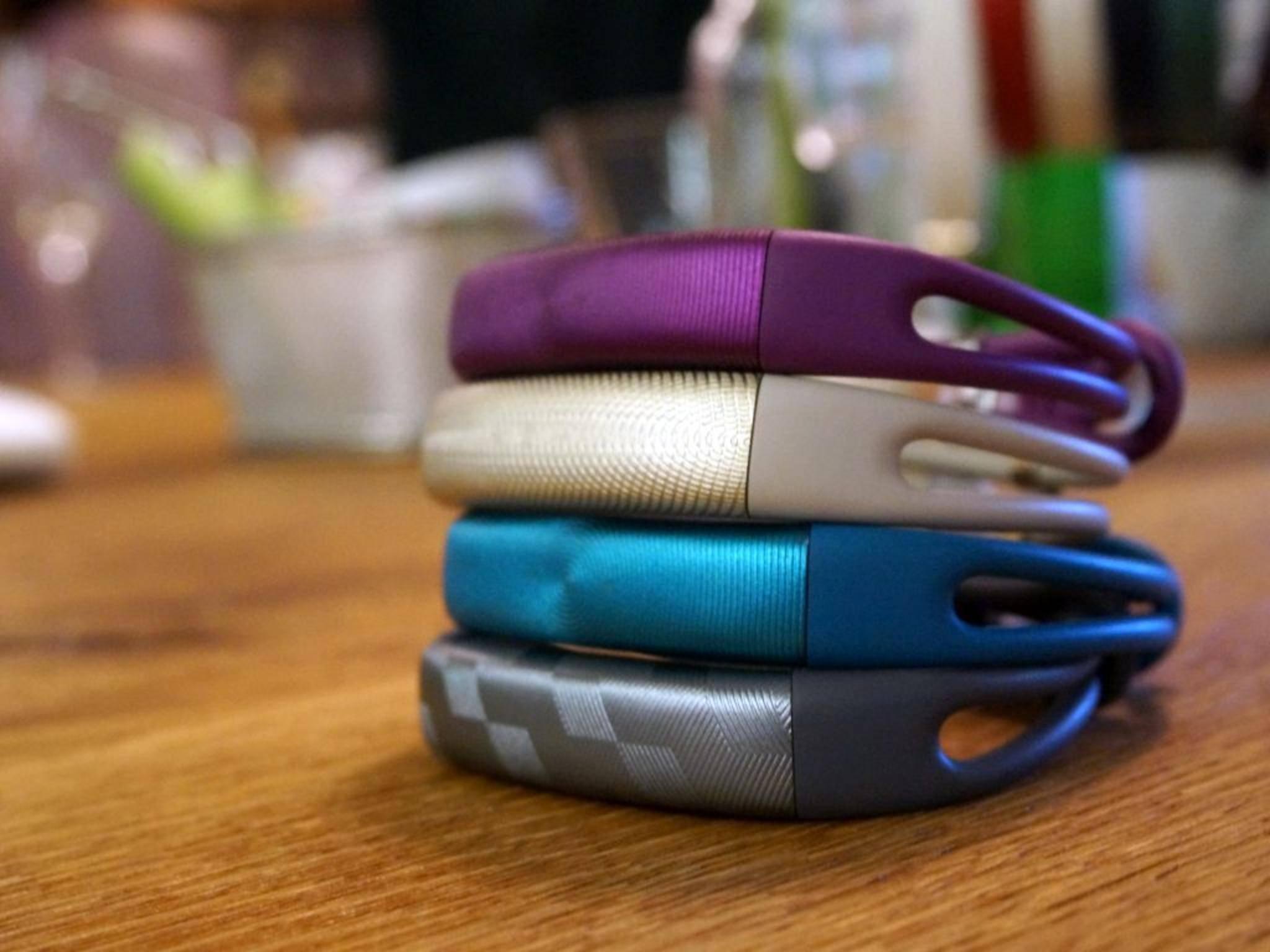 Das Jawbone Up2 kommt in sechs neuen Farben und mit neuem Armband.