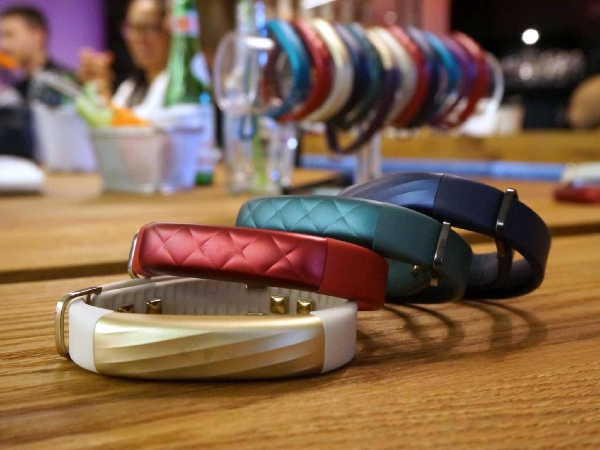 Das Jawbone Up3 ist ab sofort in vier neuen Farben erhältlich.