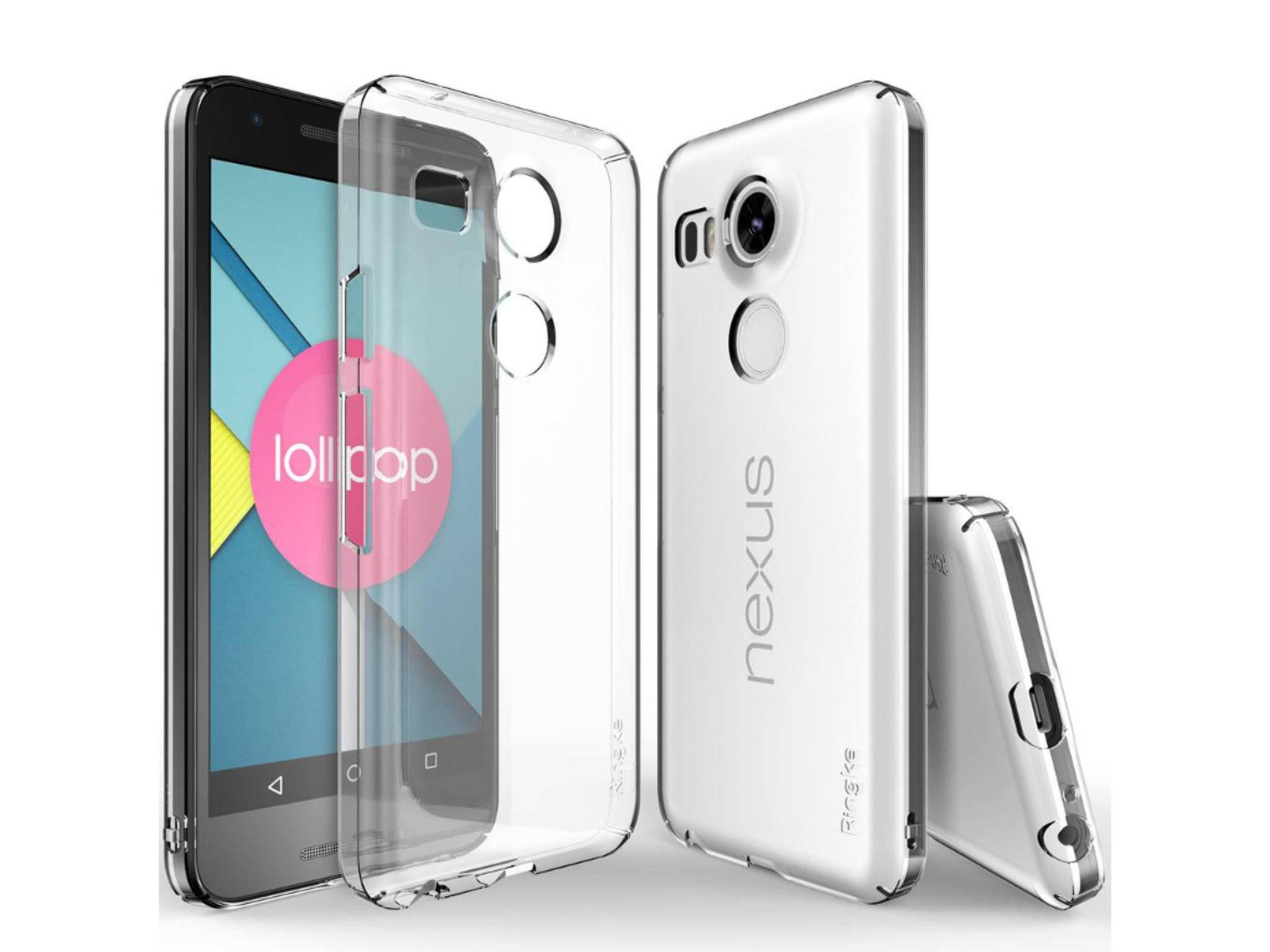 Das Nexus 5 (2015) von LG zeigt sich erstmals von allen Seiten.