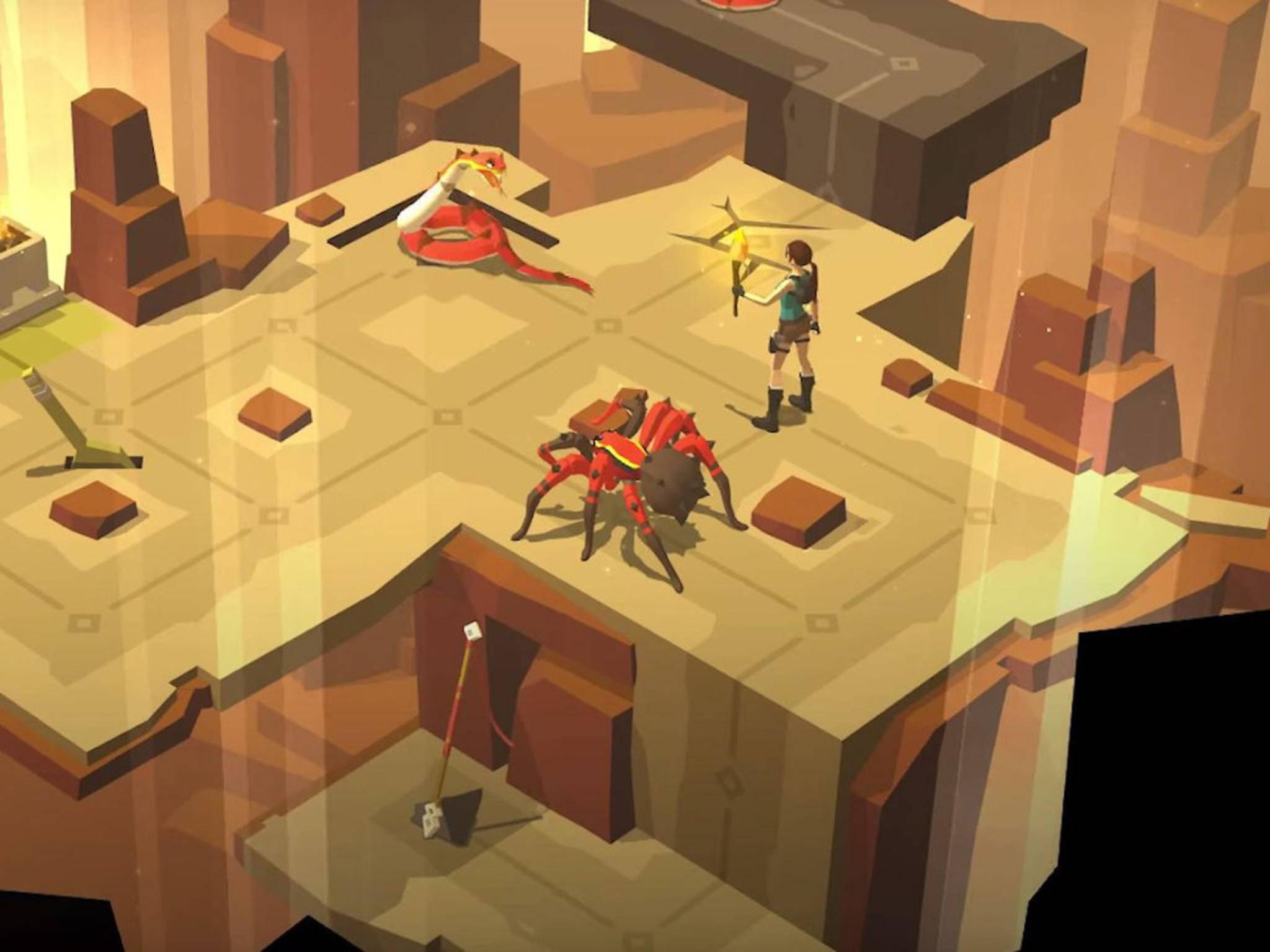"""Spiele wie """"Lara Croft Go"""" können schon bald live auf YouTube gestreamt werden."""