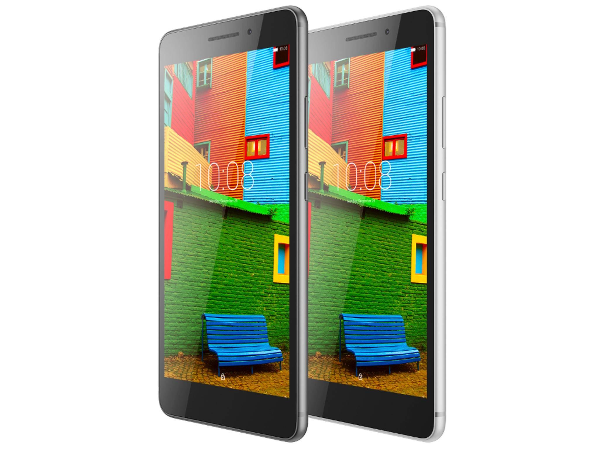 Das Lenovo Phab hat einen riesigen Screen mit fast 7 Zoll.