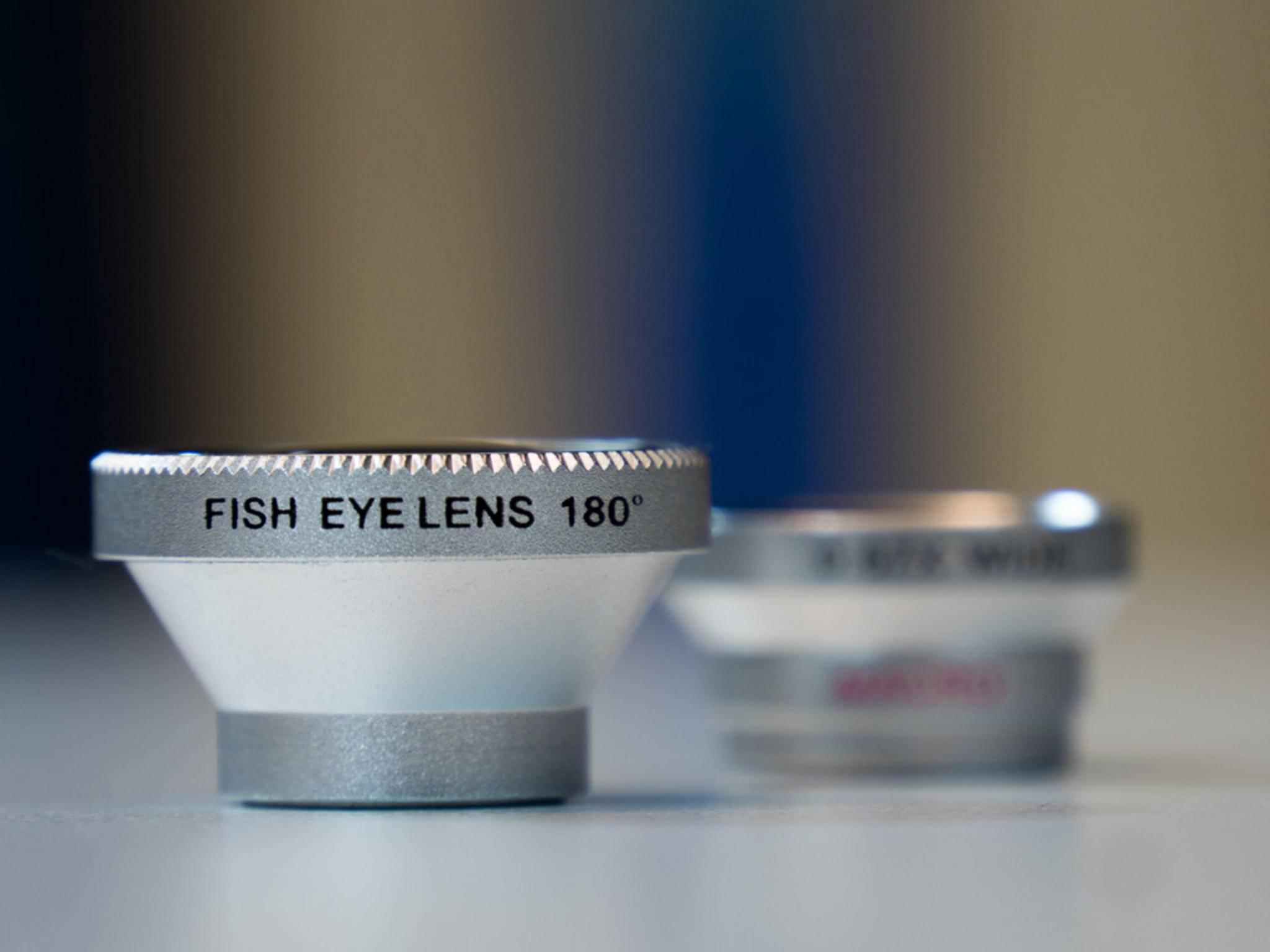 Walimex bietet ein Fischaugen-Objektiv und ein kombiniertes Objektiv aus Makro und Weitwinkel.