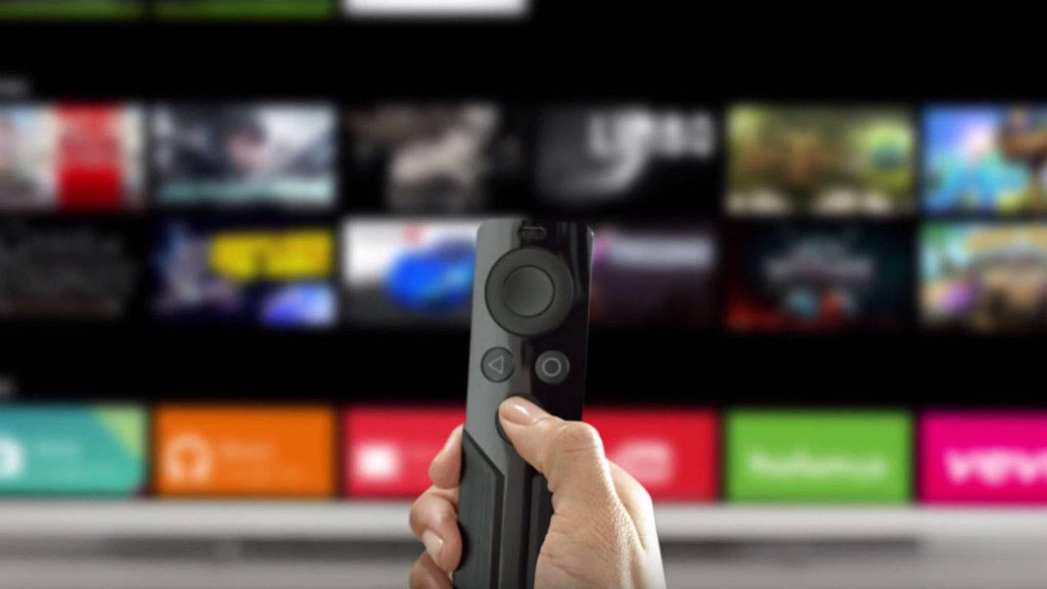 Für Nvidia Shield TV gibt es jetzt eine Fernbedienungs-App.