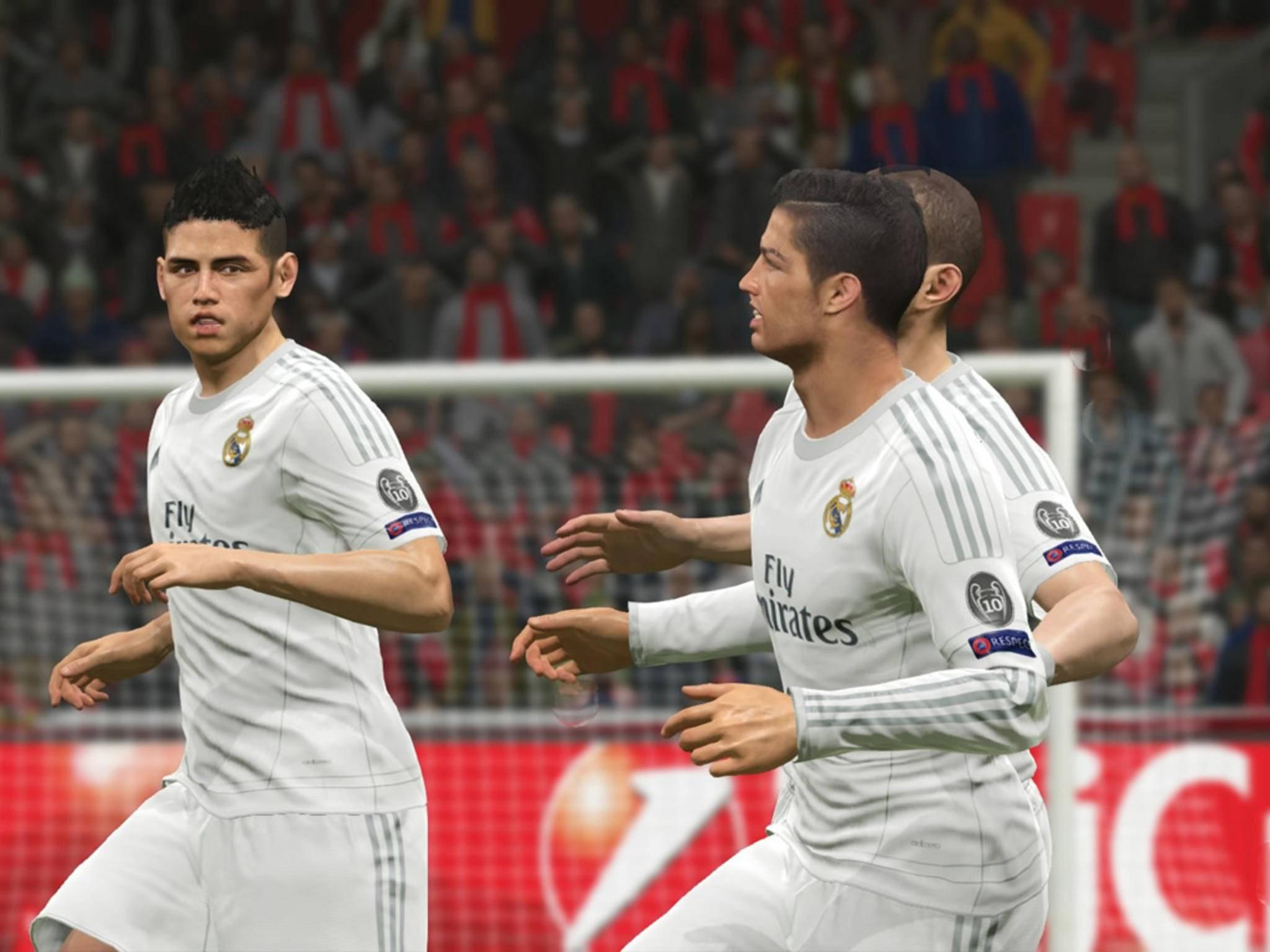 Die Fußballhelden von Real Madrid.