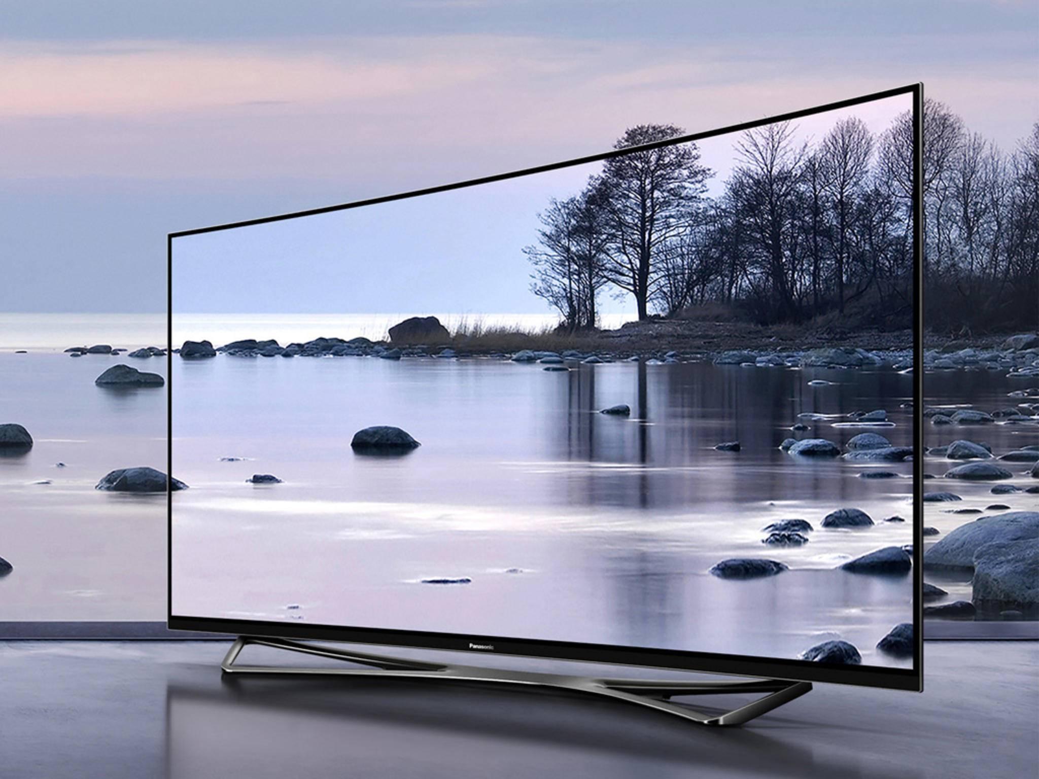 Panasonic hat auf der IFA seinen ersten 4K-OLED-TV präsentiert.