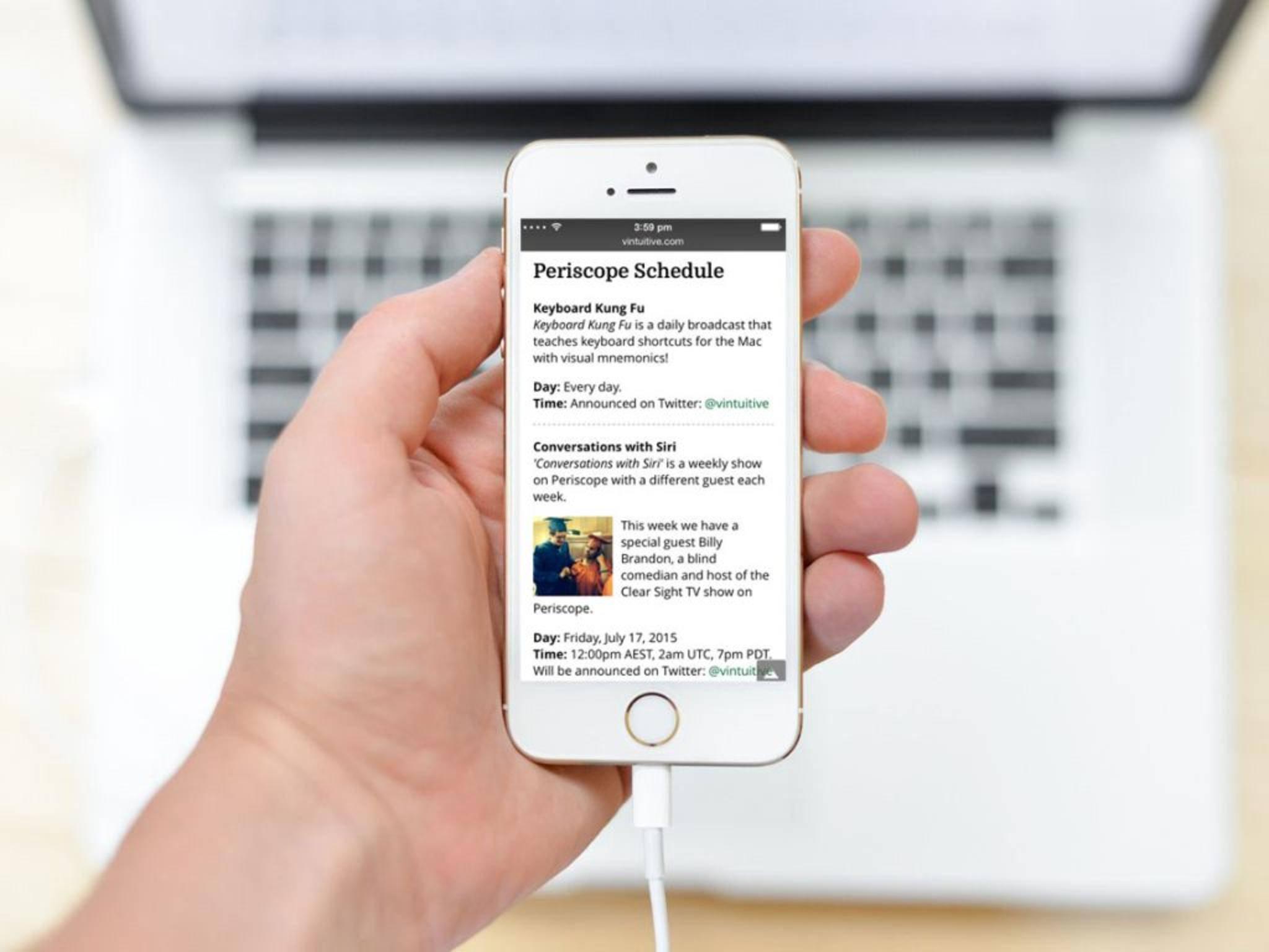 Periscope will anscheinend Apple TV erobern.