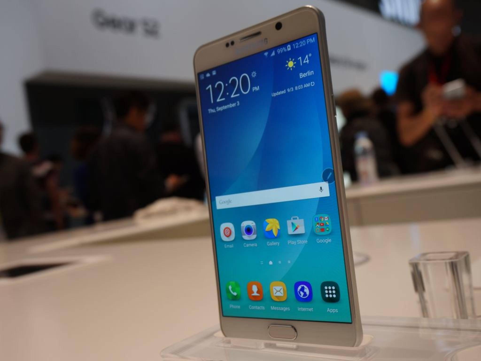 Das Galaxy Note 5 kann per Stift bedient werden – aber ein Erscheinungstermin für Europa steht nach wie vor aus.