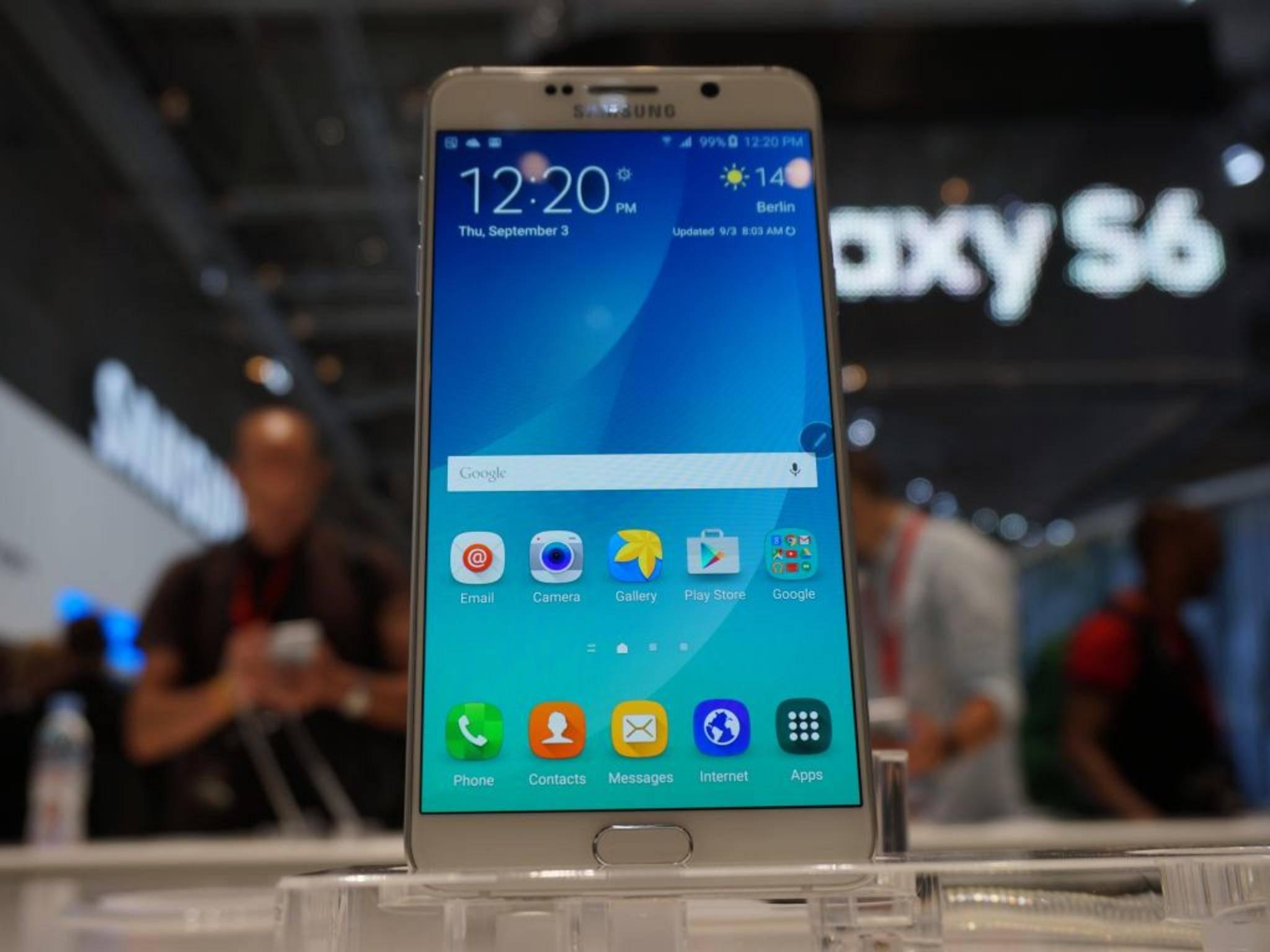 Die Software für den Nachfolger des Galaxy Note 5 ist bereits in Arbeit.