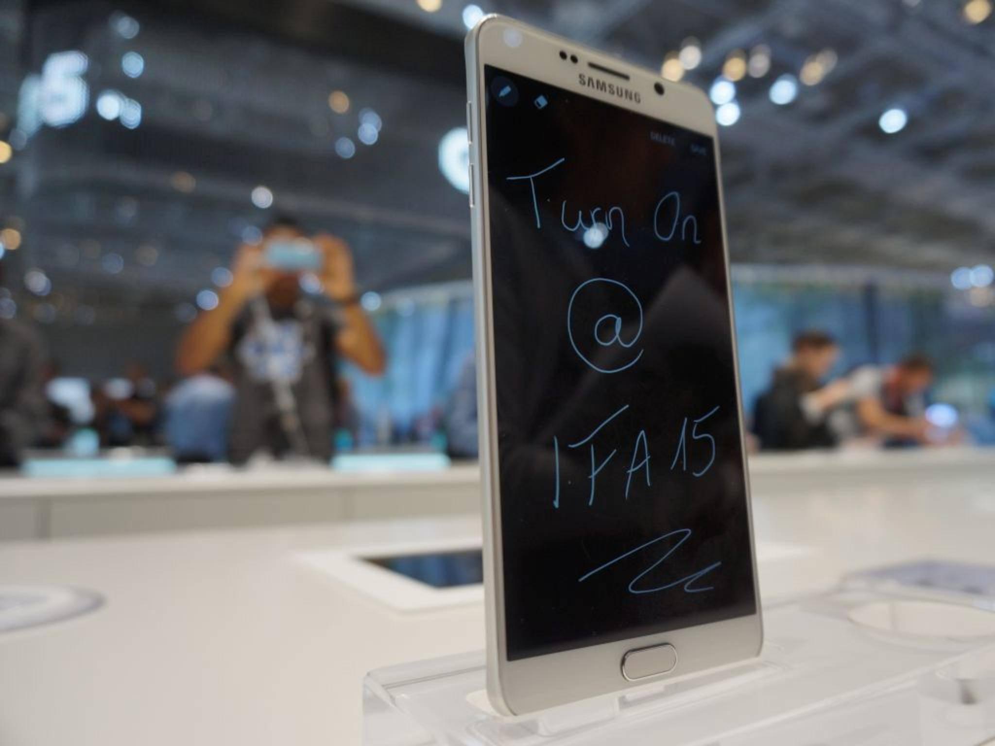 Nach dem Galaxy Note 5 folgt direkt das Galaxy Note 7.