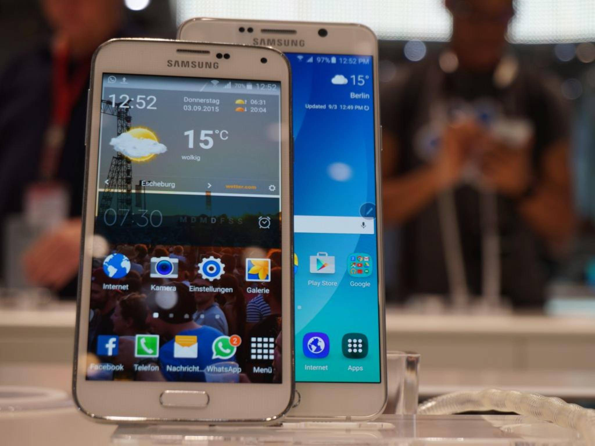 Samsung Galaxy Note 5 & Galaxy S5 2