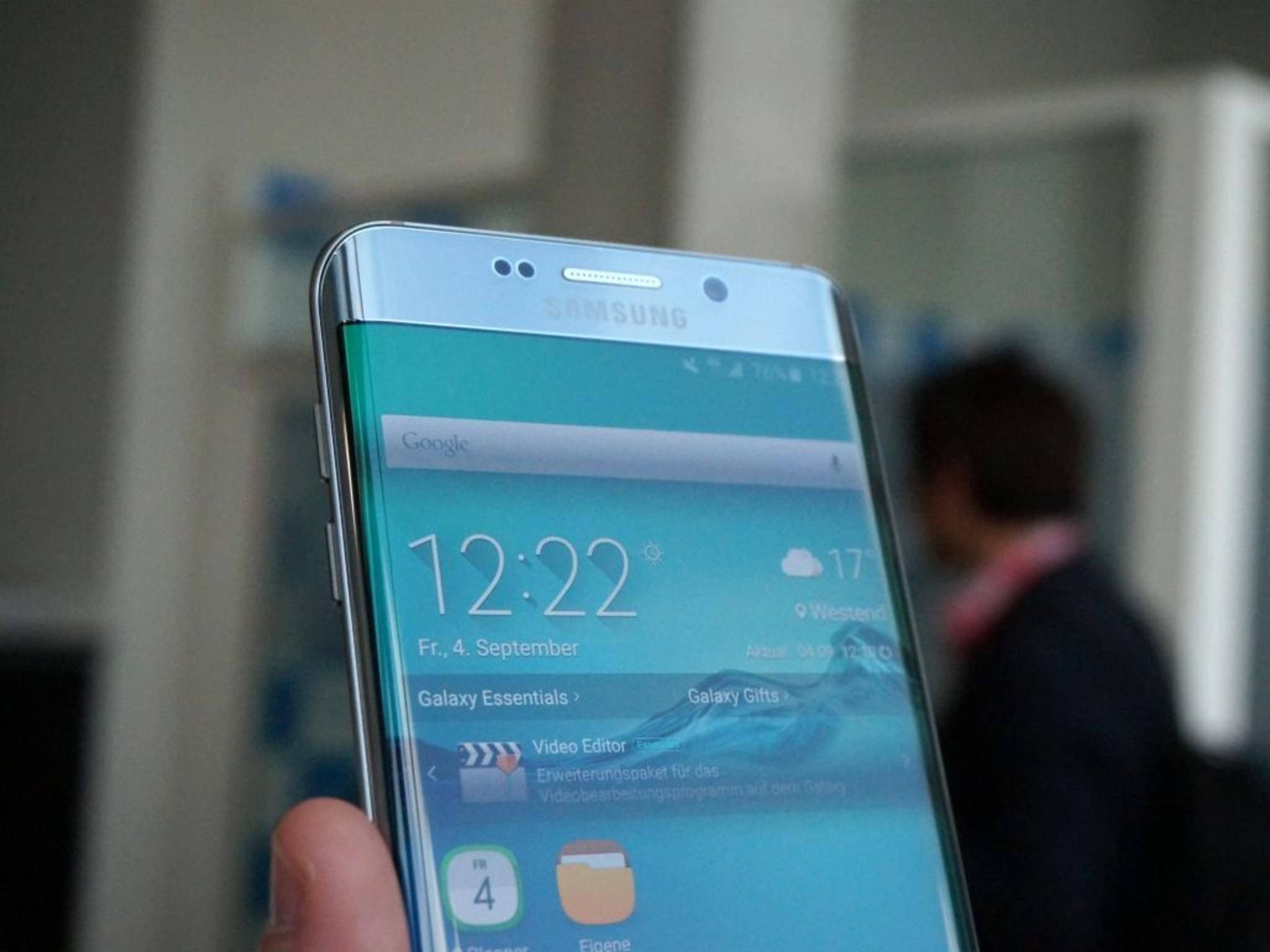 Das Galaxy Note 6 könnte ein Curved-Display bekommen.