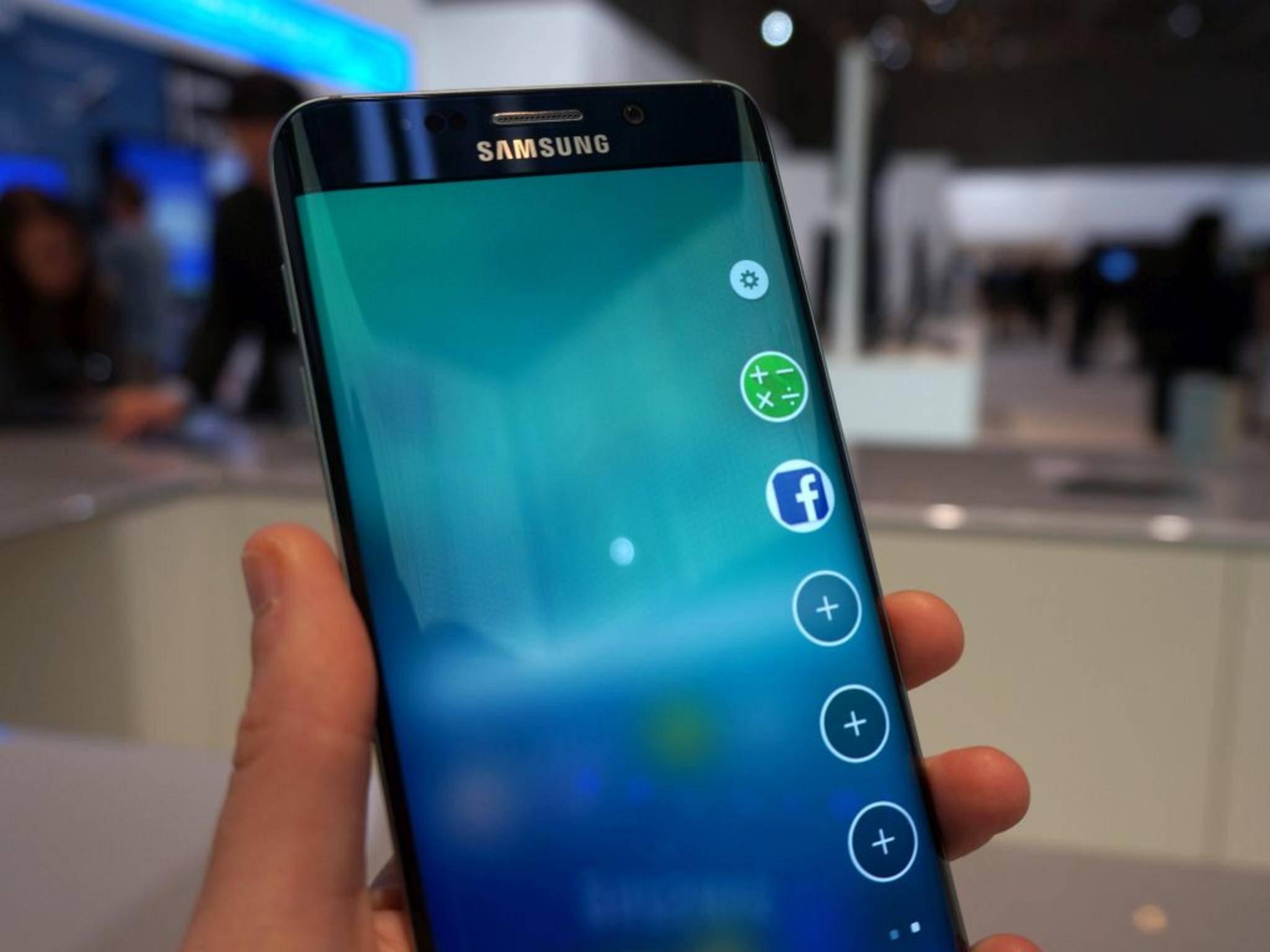 Das Galaxy S7 soll zusätzliche Features für sein Edge-Display bekommen.