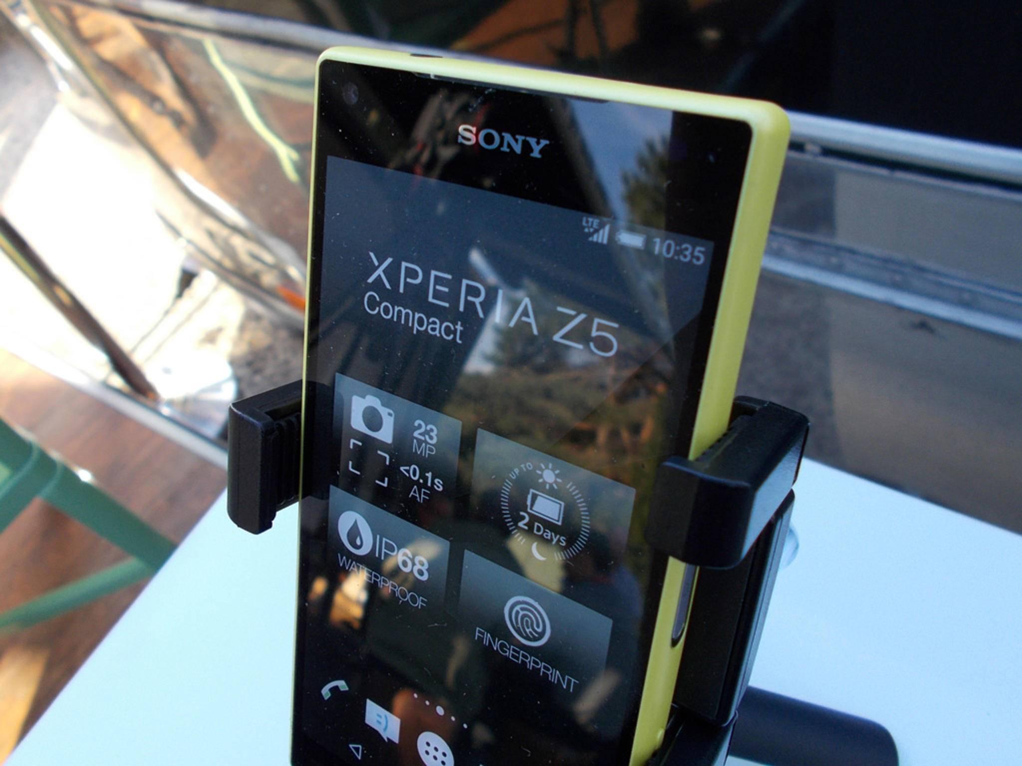Das Sony Xperia Z5 gilt sicher als eines der Top-Highlights.