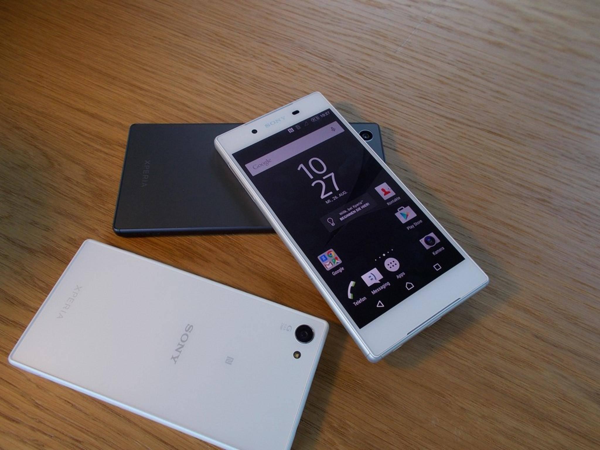 Neuer Kamera-Spitzenreiter: das Sony Xperia Z5.