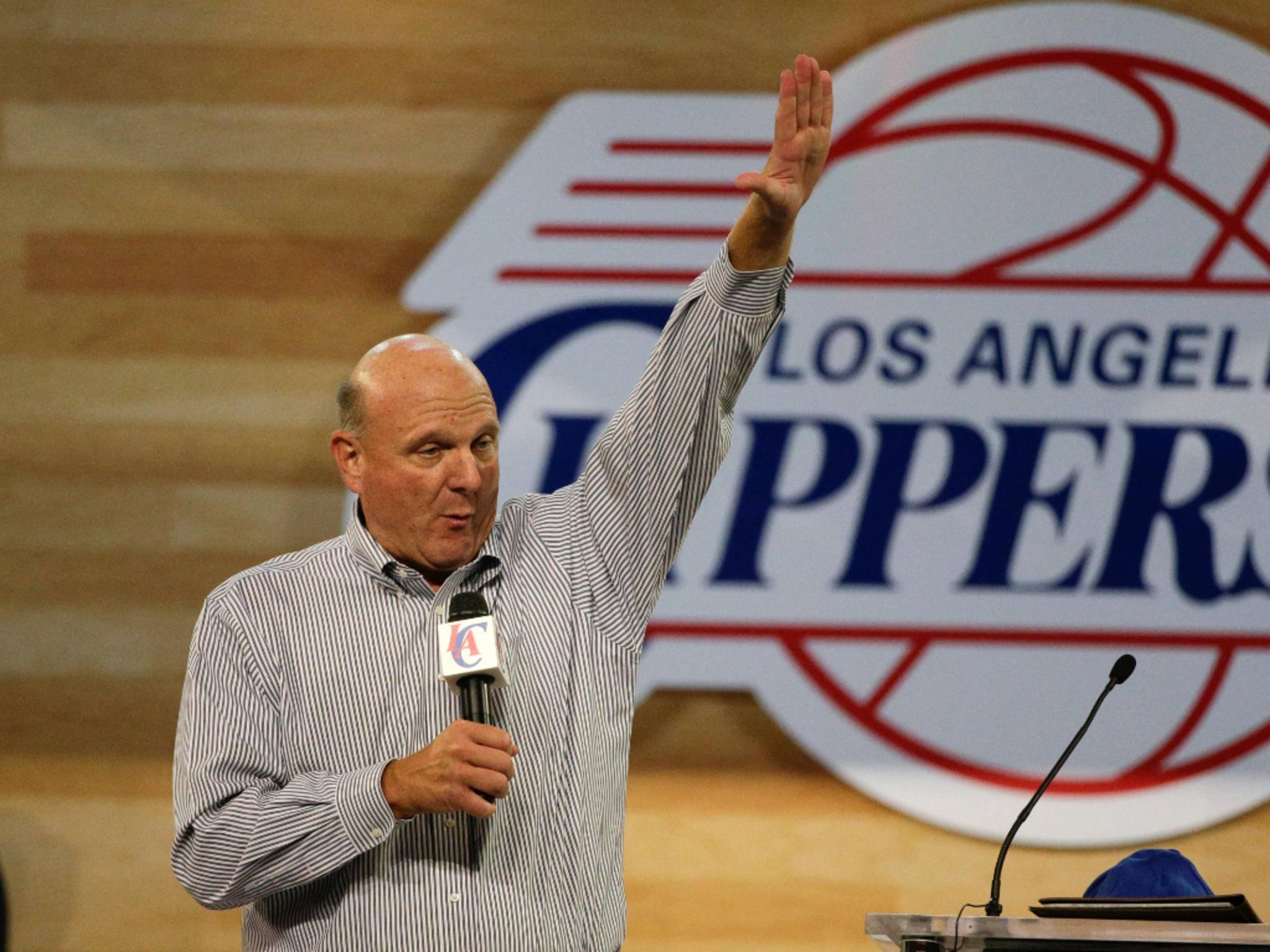 Ex-Microsoft-Chef Steve Ballmer hat ein eigenes NBA-Team.