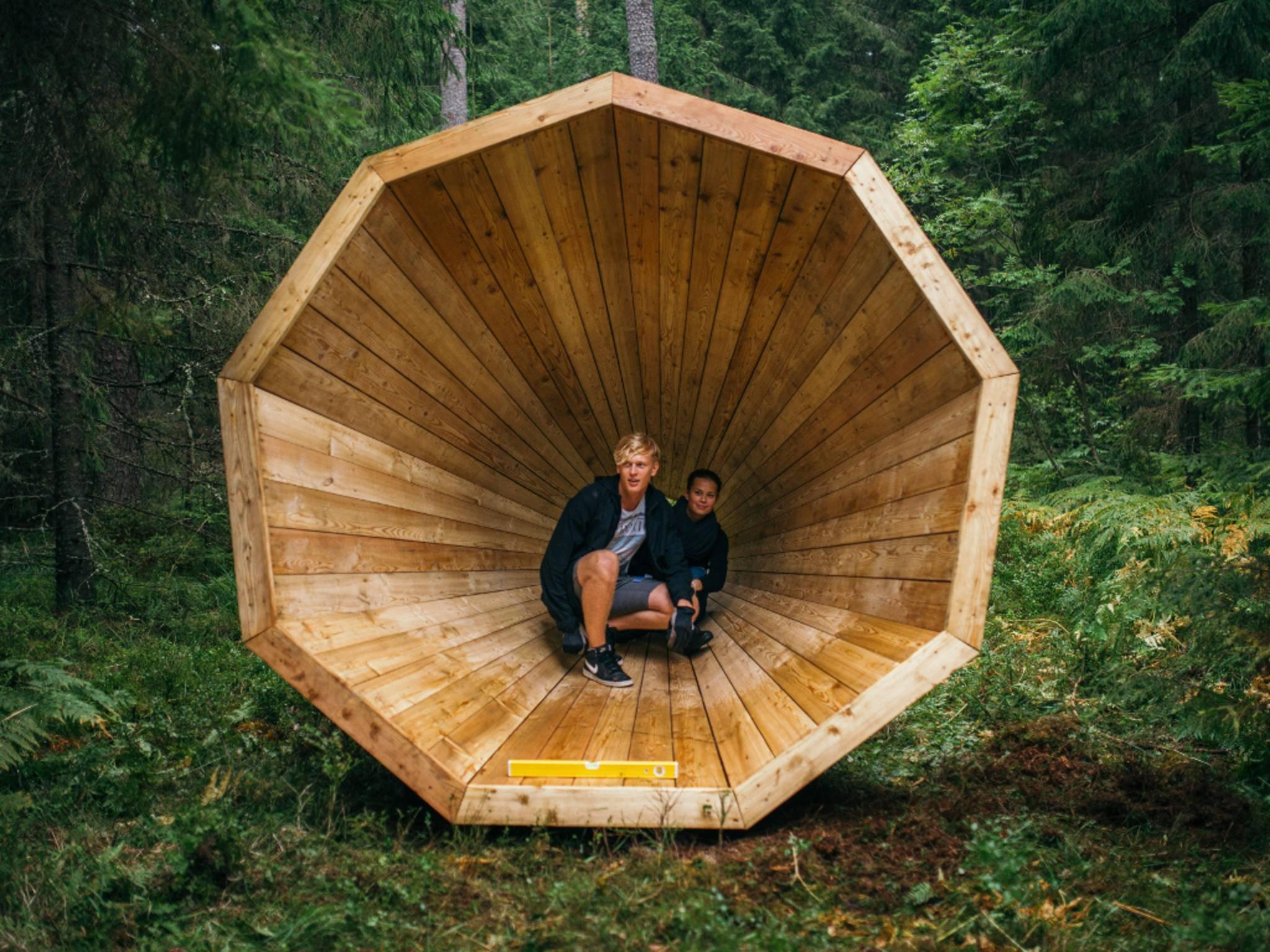 """Ein estnisches Kunstprojekt soll den """"Sound des Waldes"""" erlebbar machen."""